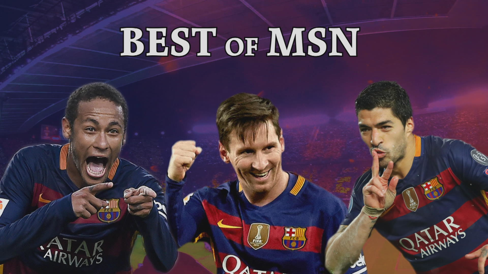 Watch the best of Barcelona's potent strike force: Lionel Messi, Luis Suarez  and Neymar