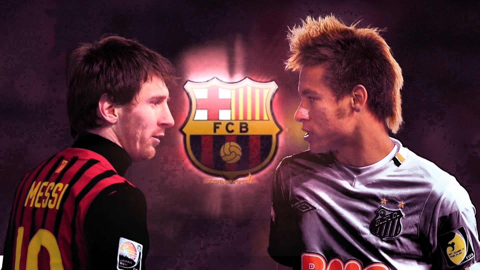 Neymar-and-Messi-HD-Wallpaper Messi And Neymar Wallpaper Hd