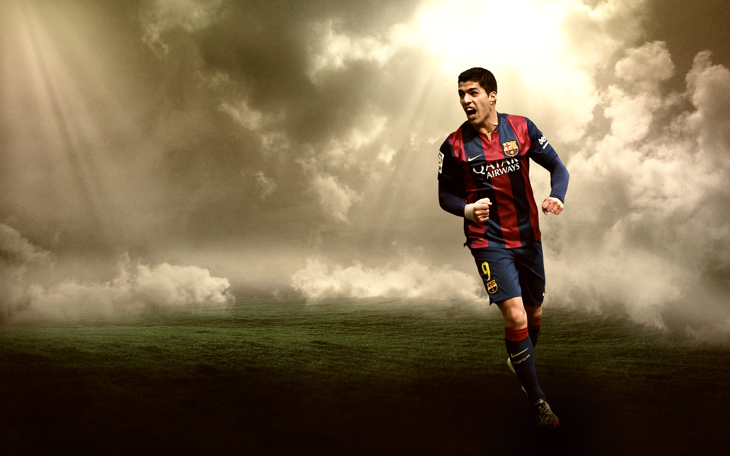 Gambar Wallpaper Terbaru Luiz Suarez Musim 2015/2016