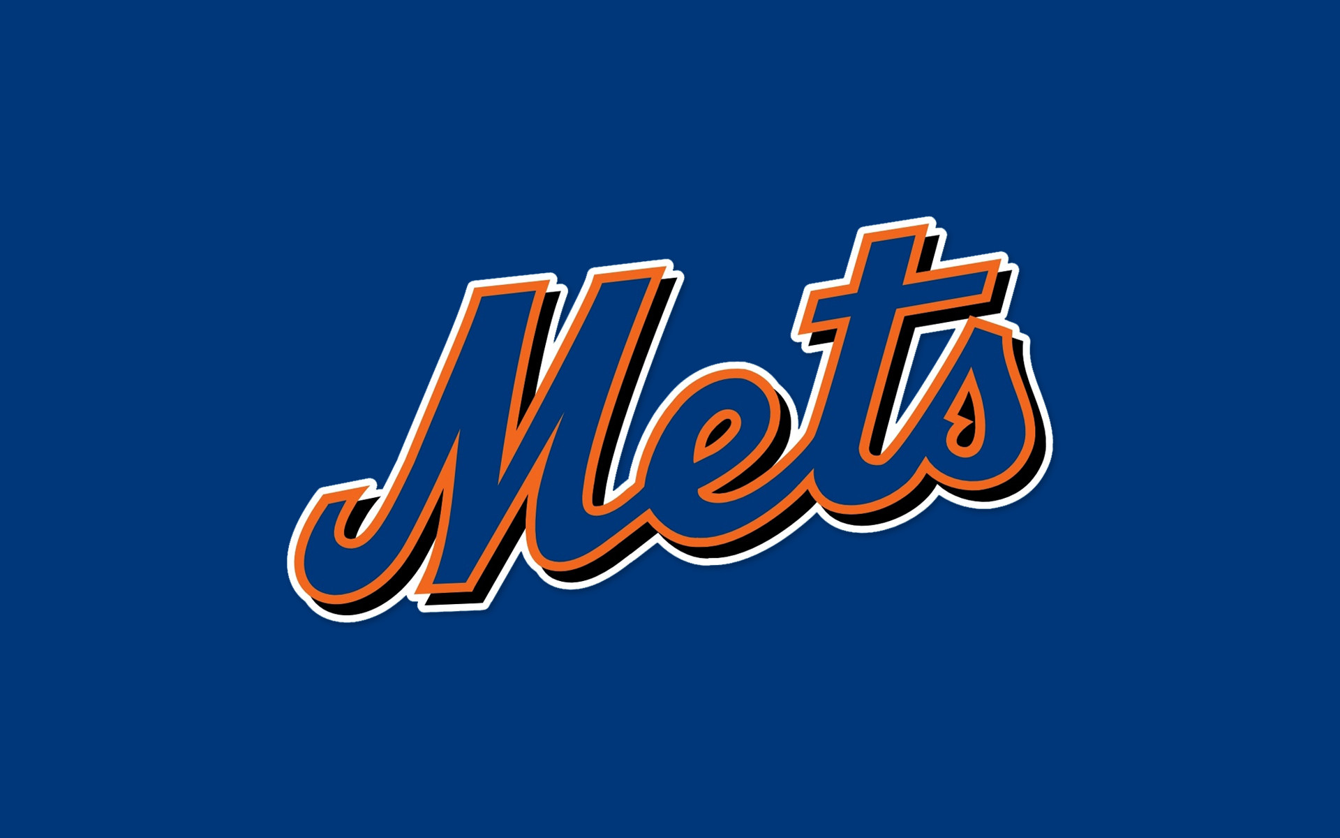 The Ultimate New York Mets Logo Desktop Wallpaper