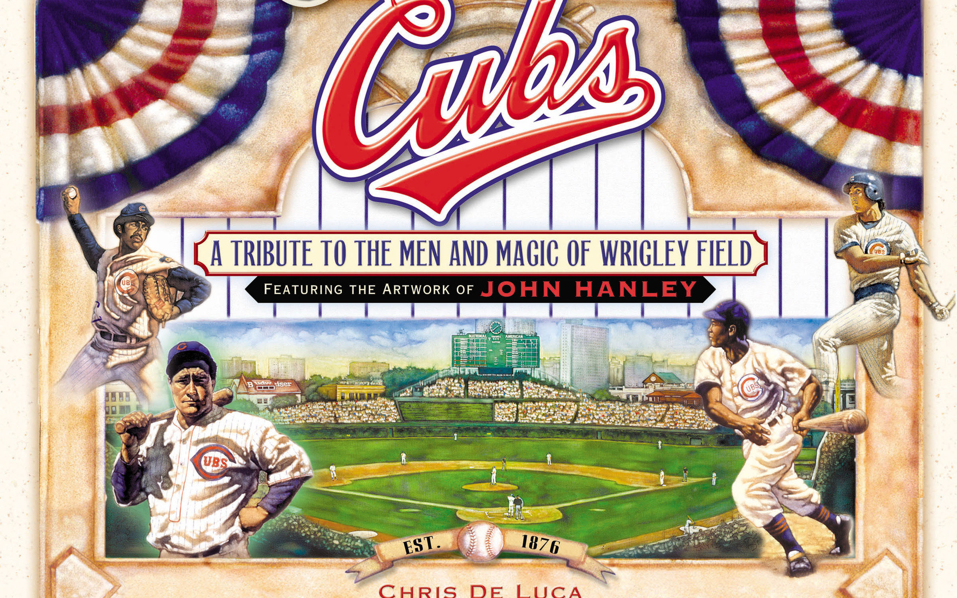 Chicago Cubs, Baseball, Chicago Cubs Mlb Baseball Art, Sports, Chicago Cubs  Classic