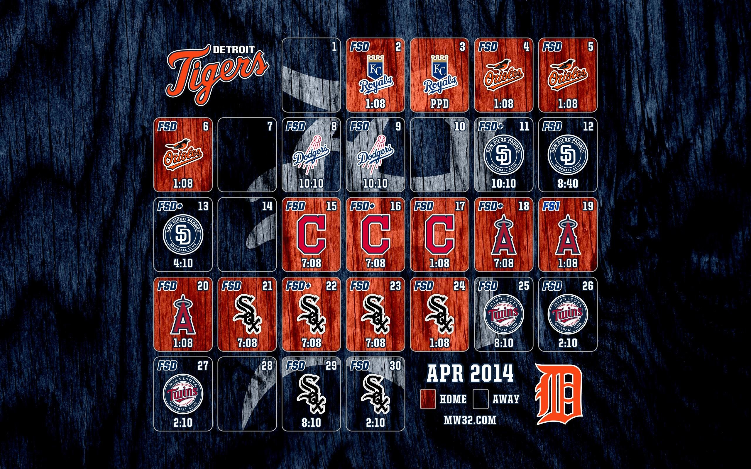 MonkeyWrench32 » April 2014 Schedule Wallpapers