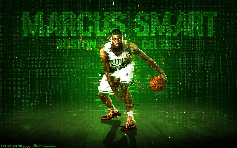 Marcus, Smar, Boston, Celtics, Wallpaper