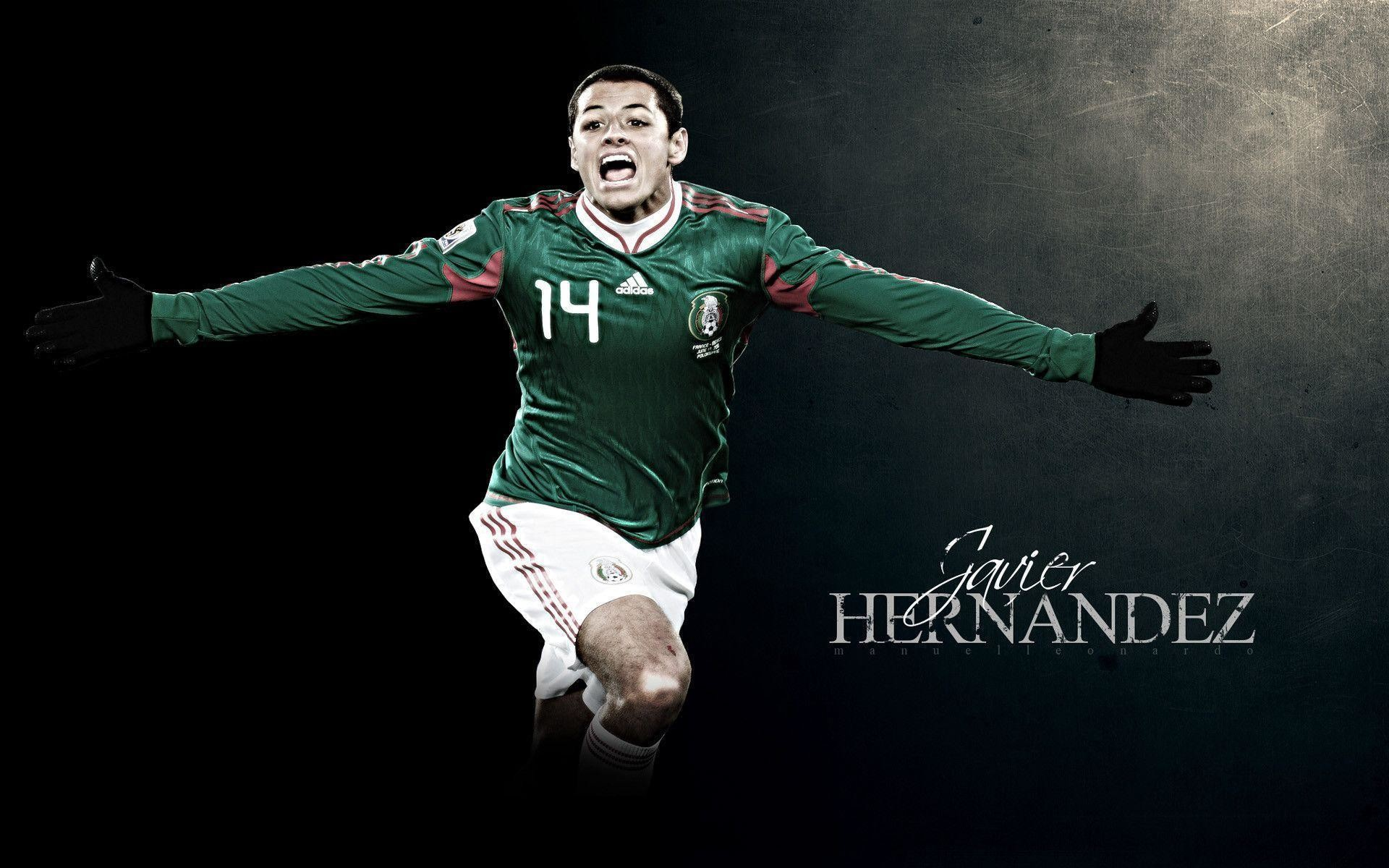 Javier Chicharito Hernandez Mexico Wallpaper Wide or HD | Male .