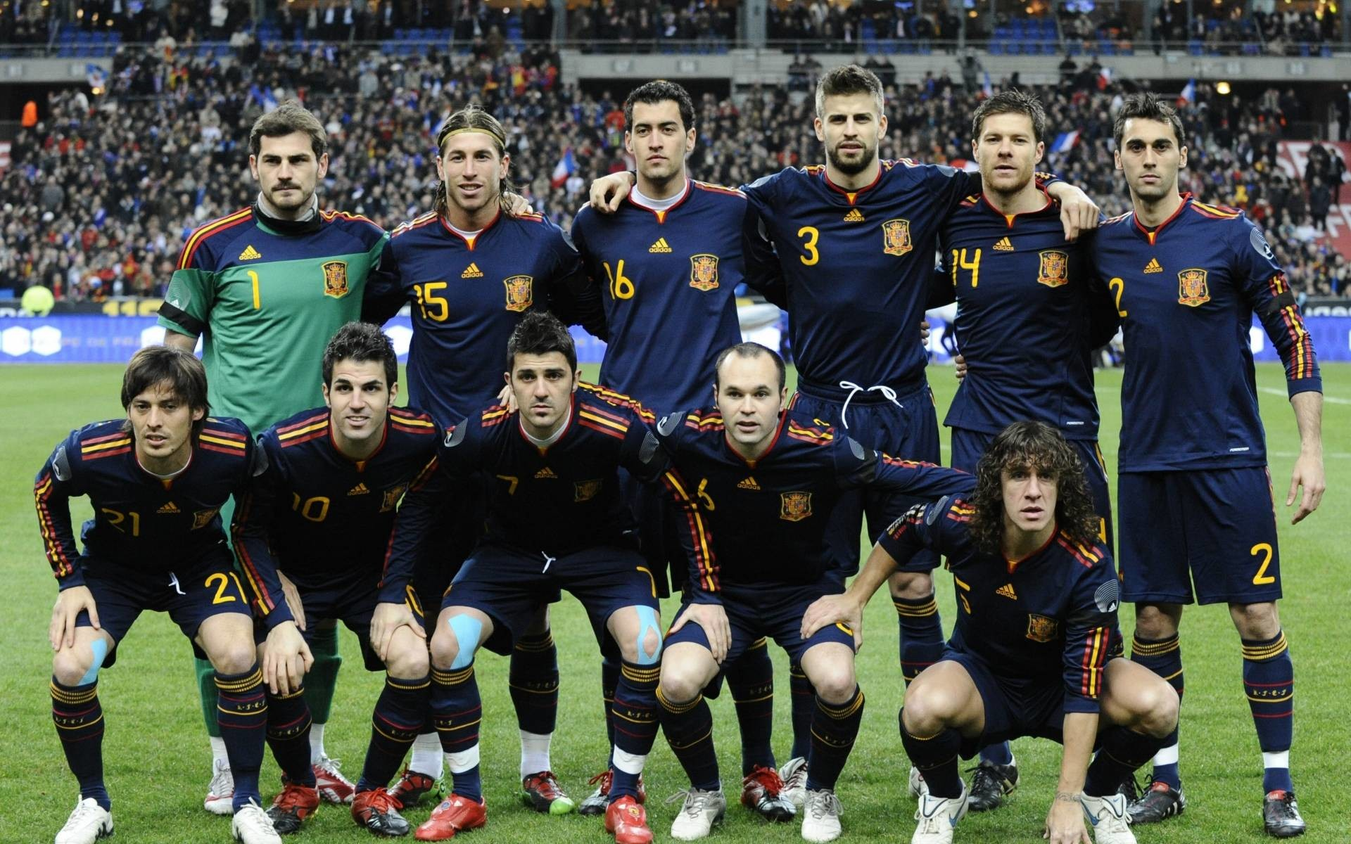 Spain Football Team Squad Wallpaper – Football HD Wallpapers