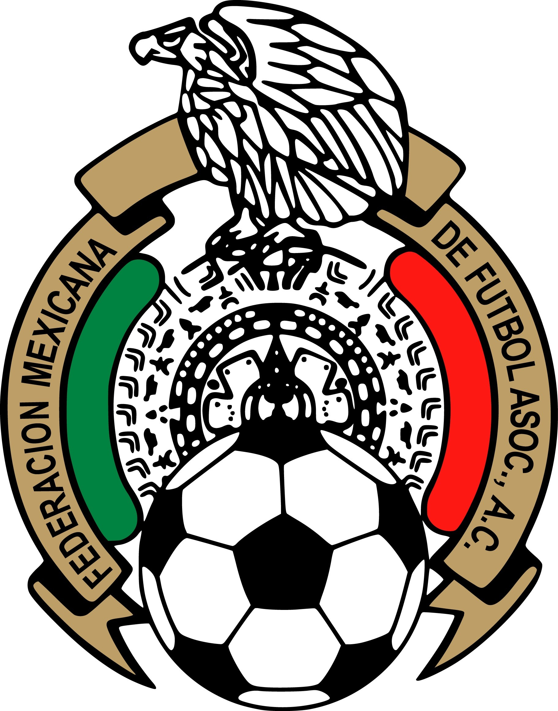Mexican Football Federation & Mexico National Football Team Logo