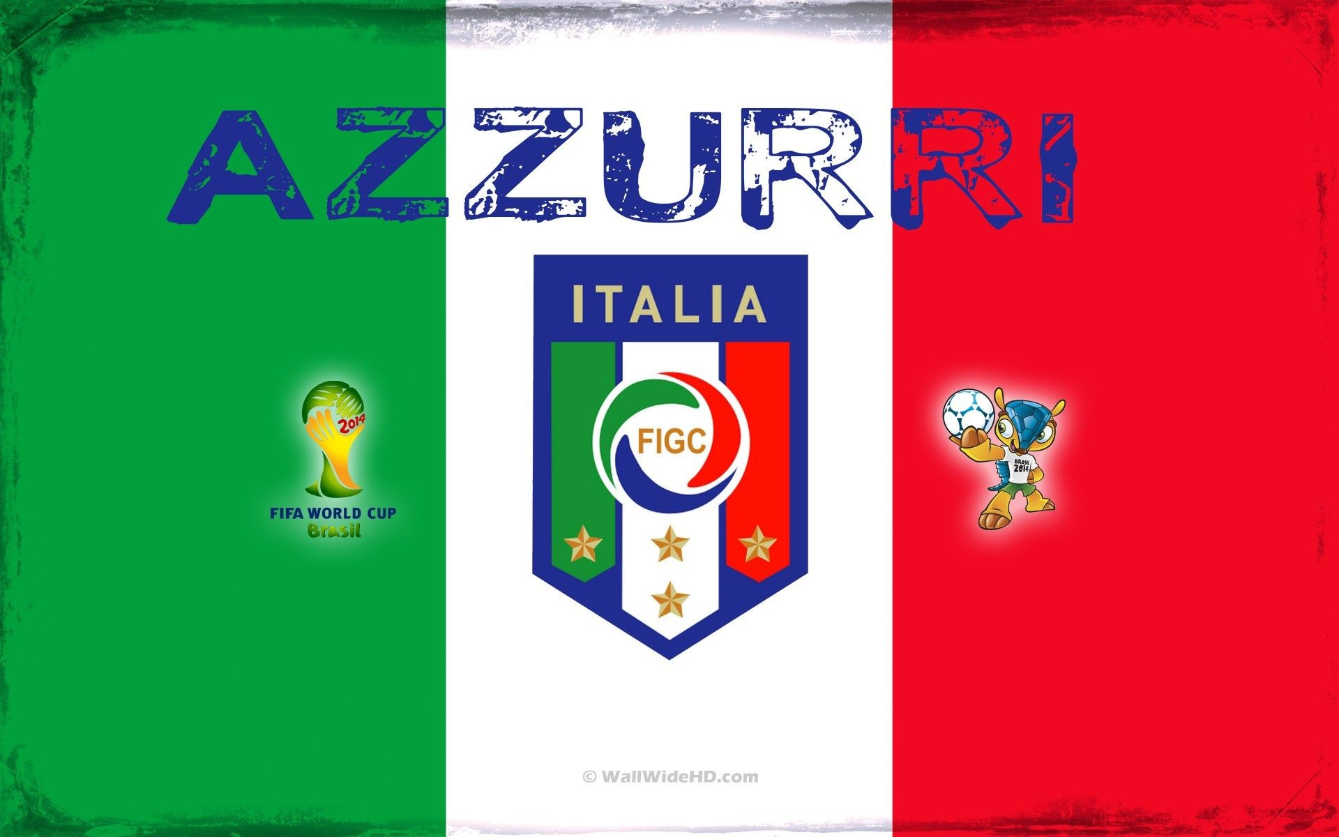 Italy National Football Team 2014 World Cup Logo Wallpapers | FIFA