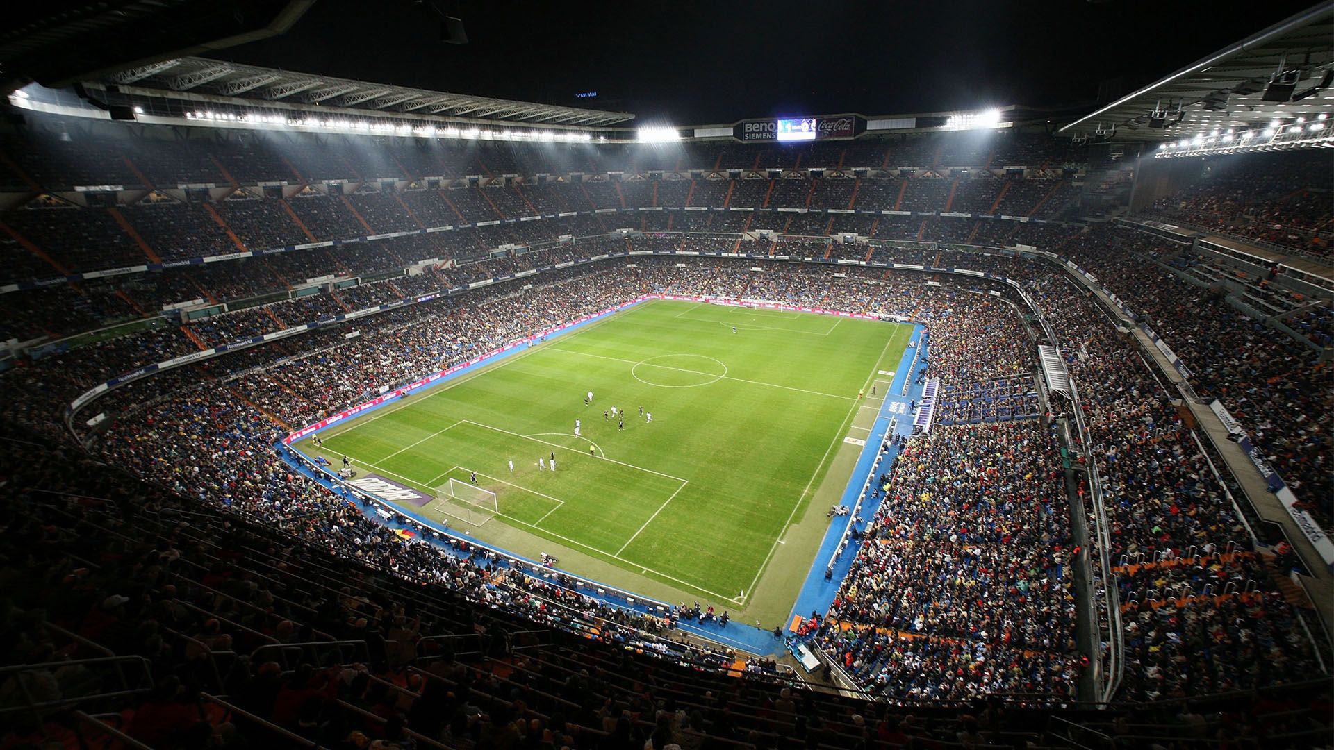 Santiago Bernabeu Real Madrid stadium wallpaper