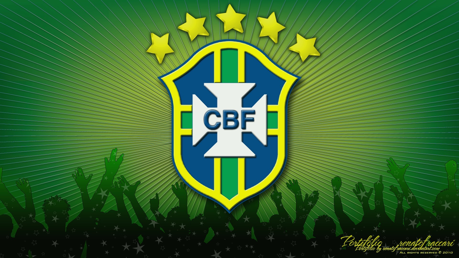 Brazil Football Team hd wallpaper