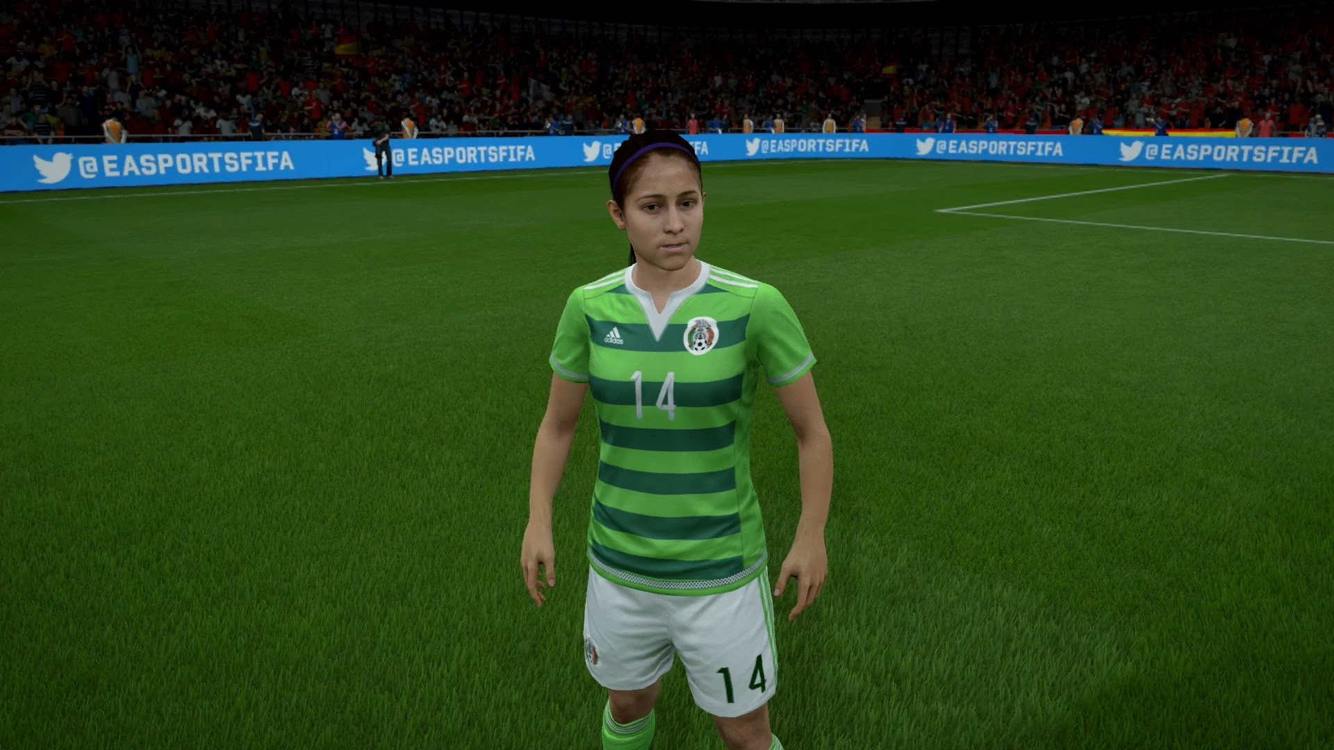 FIFA 16 – Mexico Women's National Team Player Faces