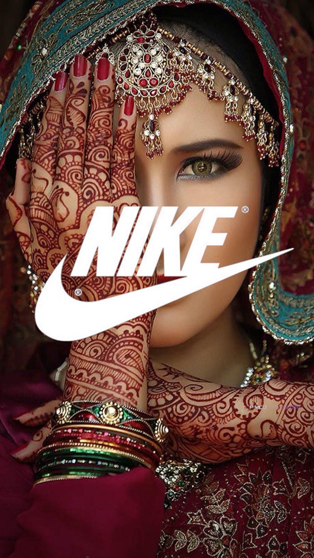 Nike Indian Girl Wallpaper – Nike Indian Girl iPhone 6 Plus Wallpaper…