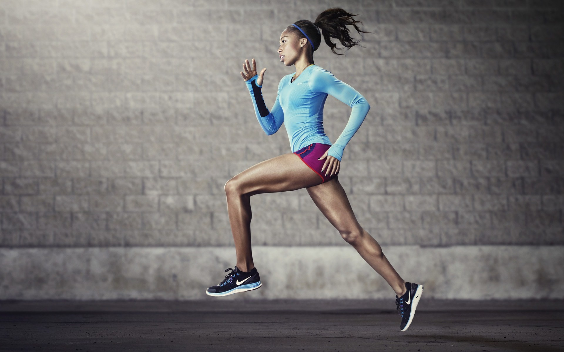 Girl-Nike-Running-HD-Wallpaper | FYI