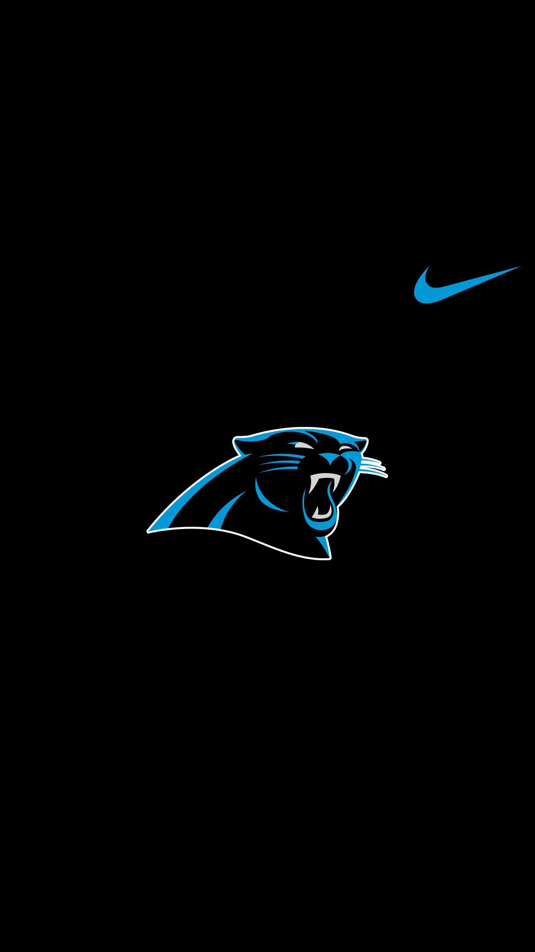 Carolina Panthers Nike Background for Iphone.