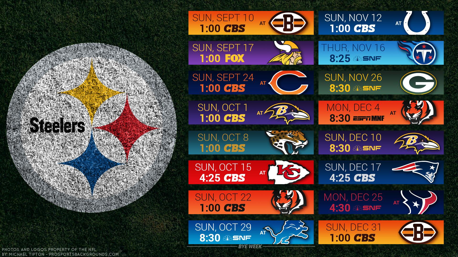 … Pittsburgh Steelers 2017 schedule turf football logo wallpaper free pc  desktop computer …
