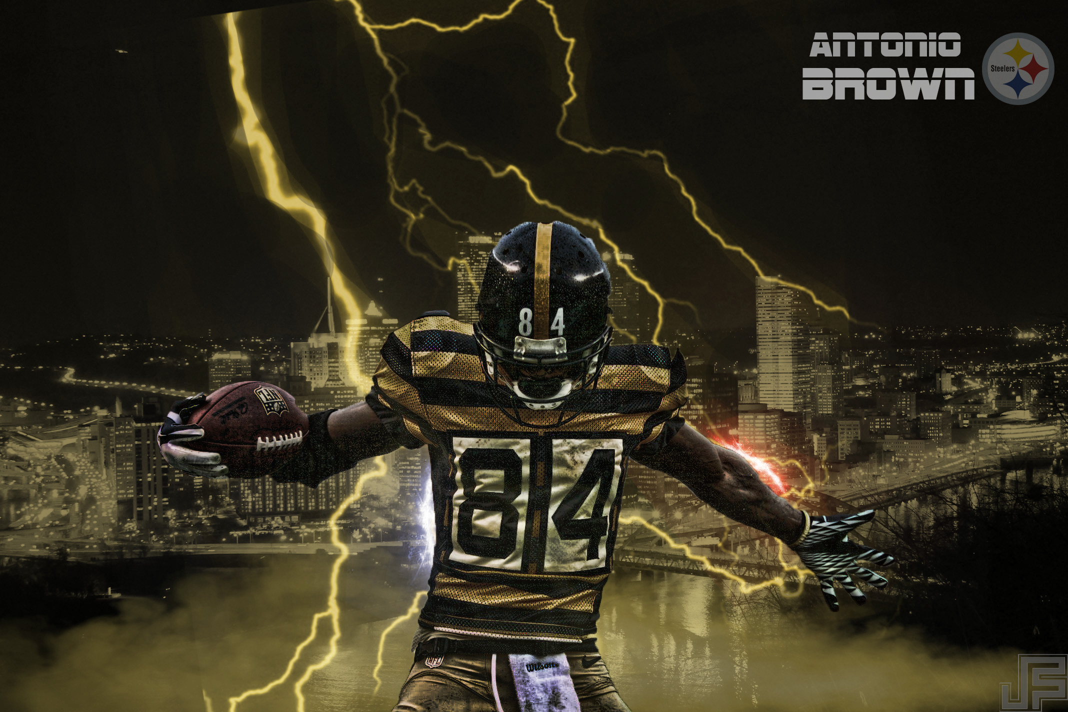 Pittsburgh Steelers Antonio Brown High Resolution Wallpapers (Catrice  Walsh, 2136×1424)