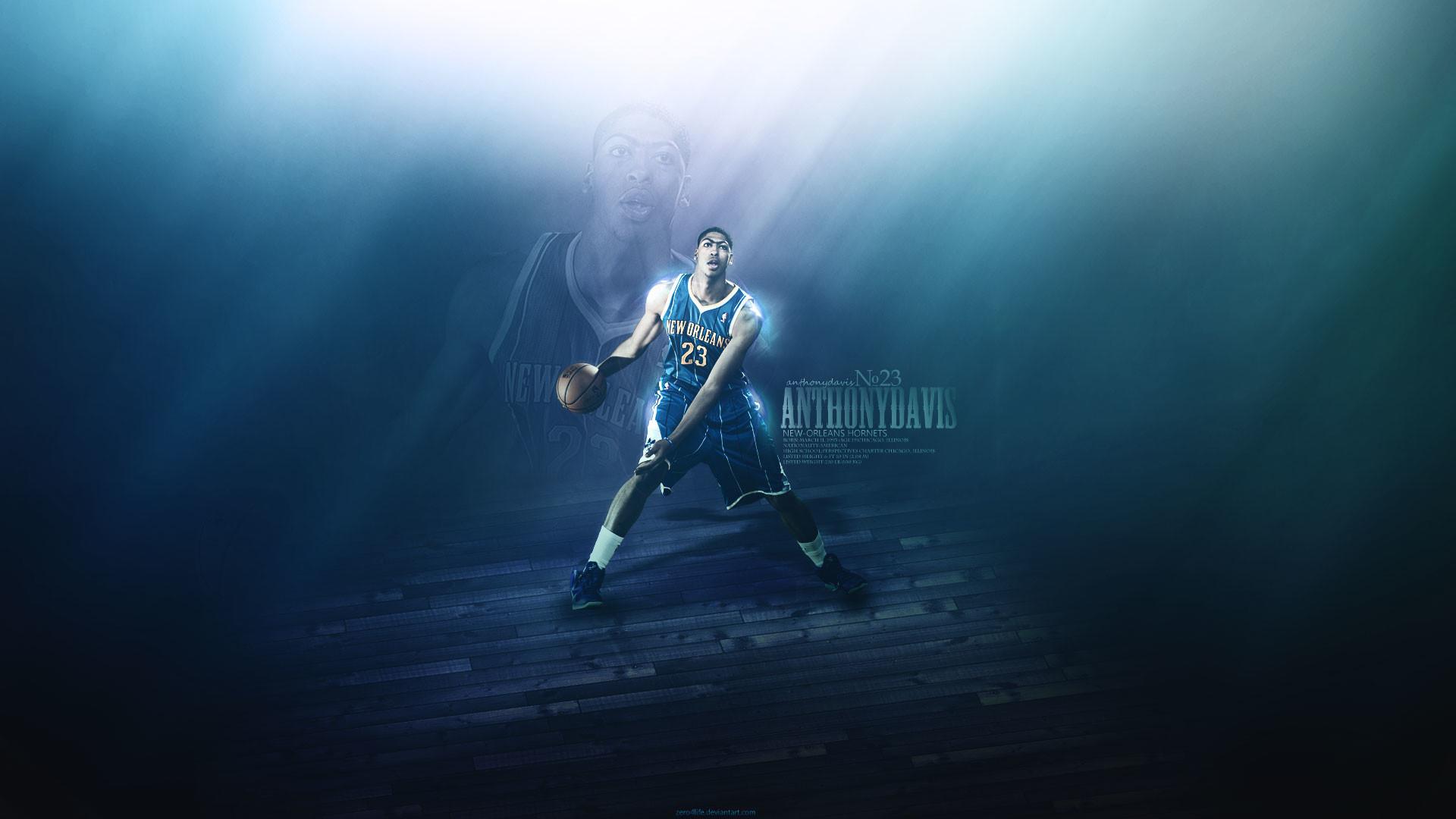 Anthony Davis Hornets 2012 Wallpaper