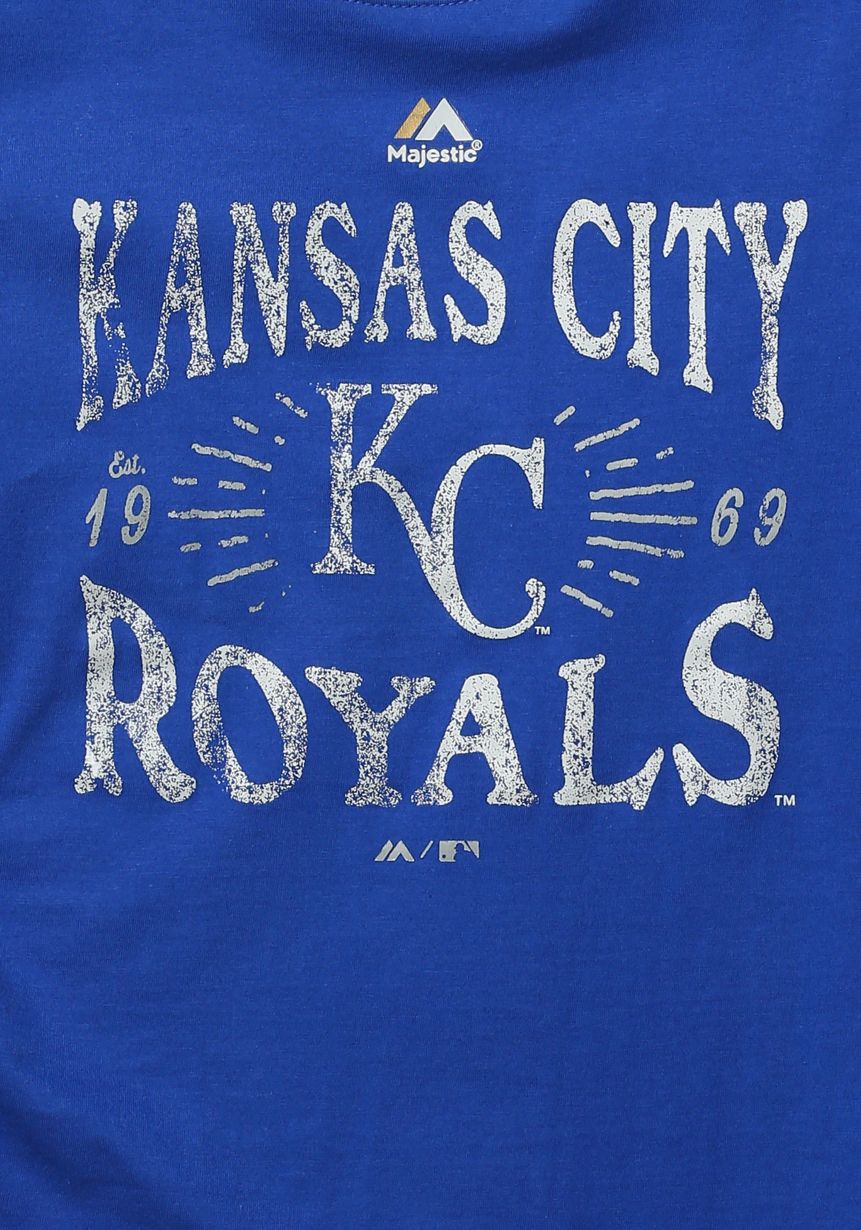 … Kansas City Royals Round the Bases Kids T-Shirt1