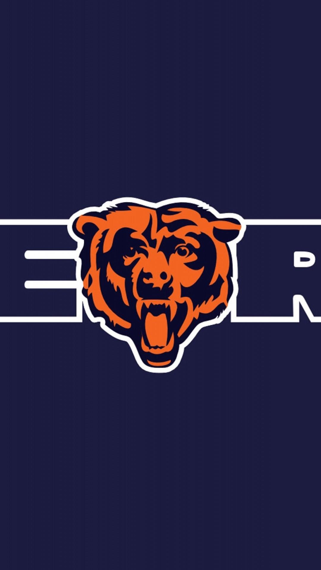 Wallpaper chicago bears, football, logo, team