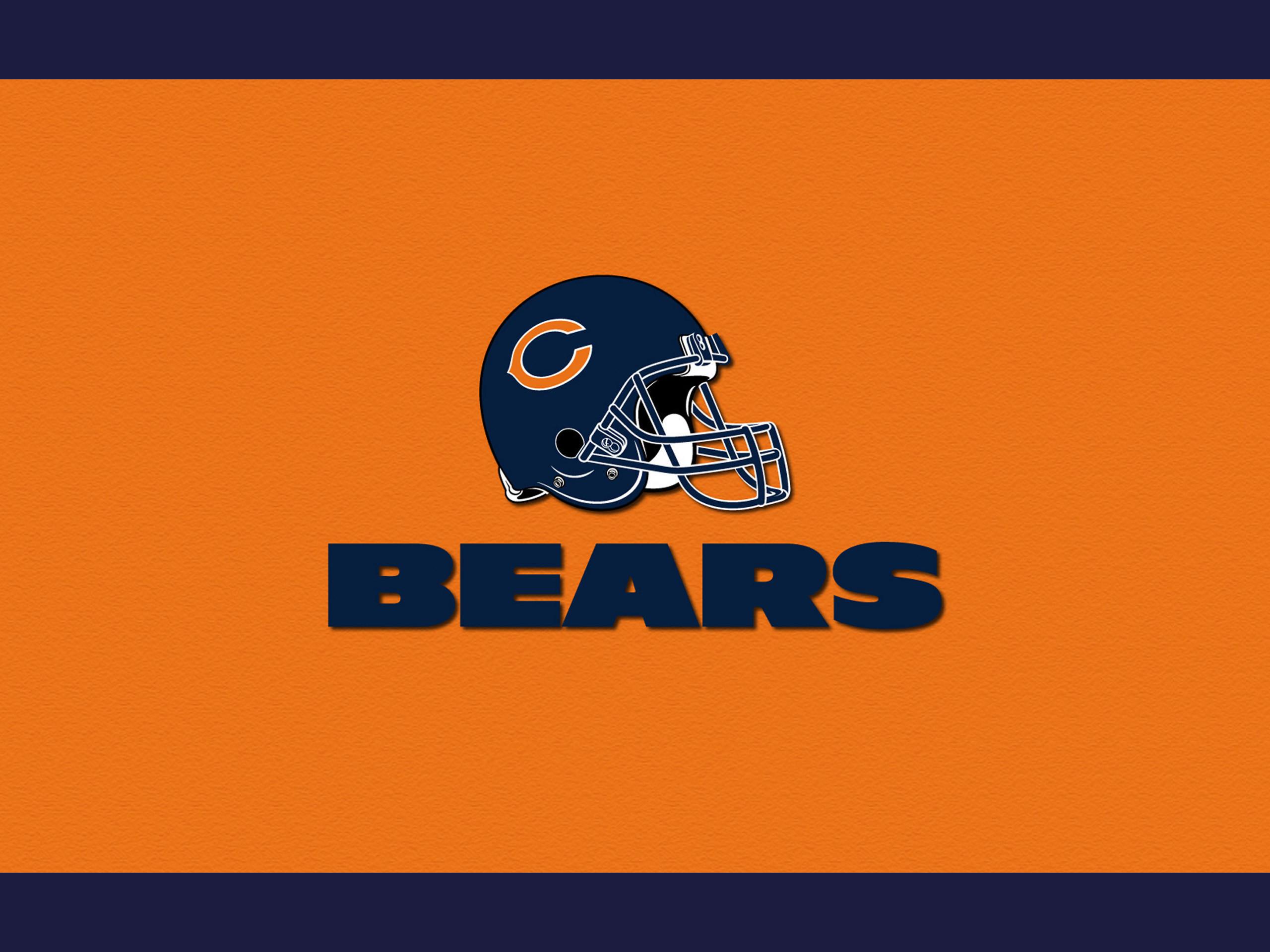 Chicago Bears helmet 2560×1920