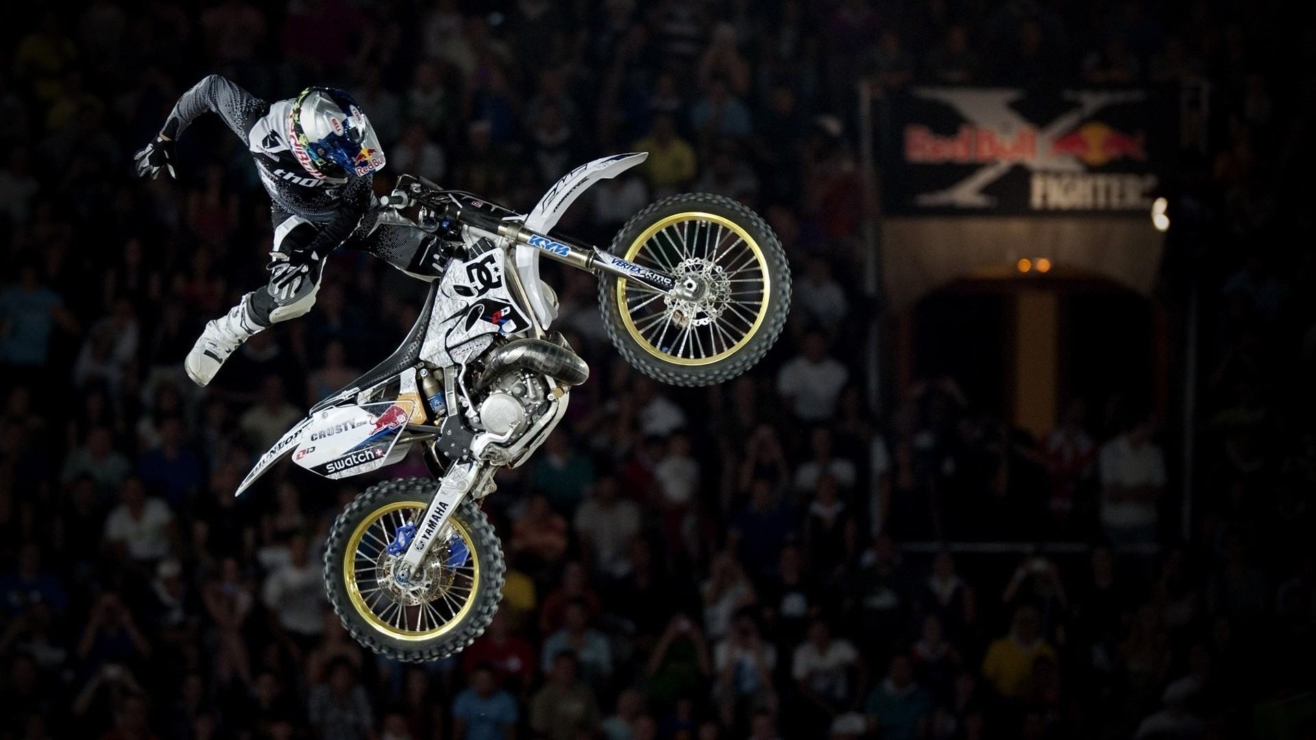 Preview wallpaper x fighters, red bull, jump 1920×1080