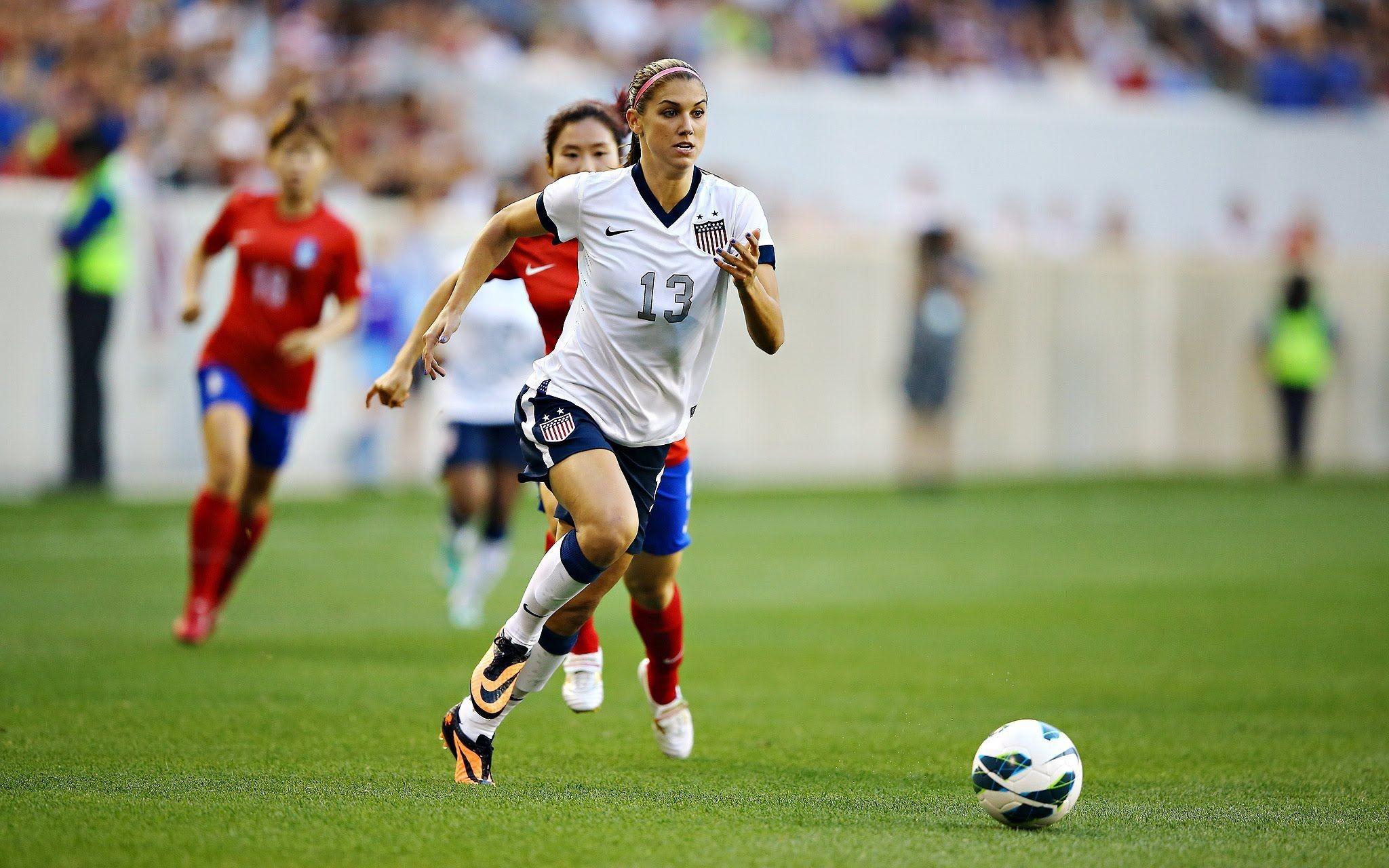 Alex Morgan U.S Women Soccer Player National Team Girl Alex Morgan .