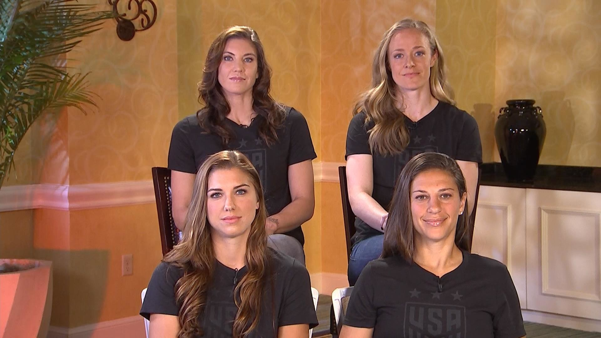 US Women's Soccer Team: It's our 'responsibility' 'to push for equal pay' –  TODAY.com