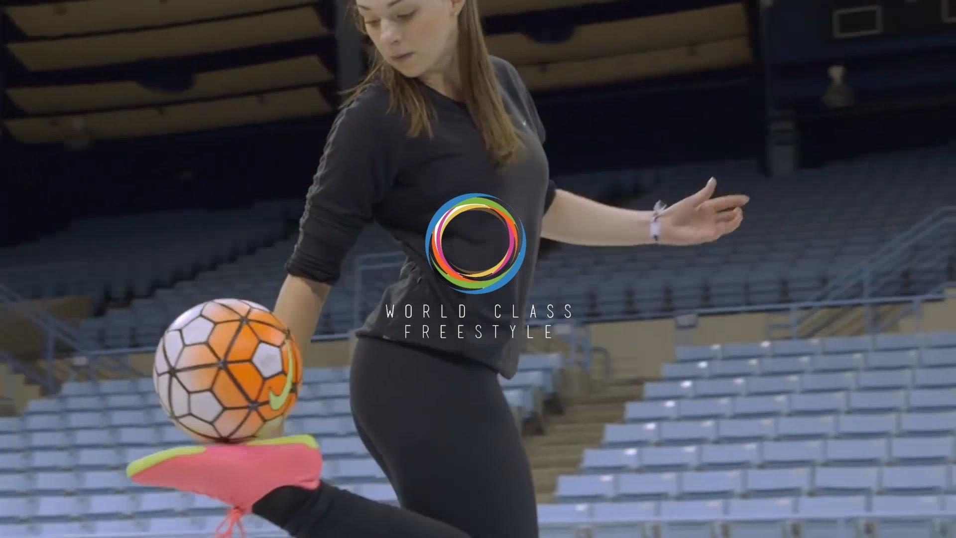 Indi Cowie Freestyle Soccer 2016 – Amazing Female Freestyler (North  Carolina, USA) – YouTube