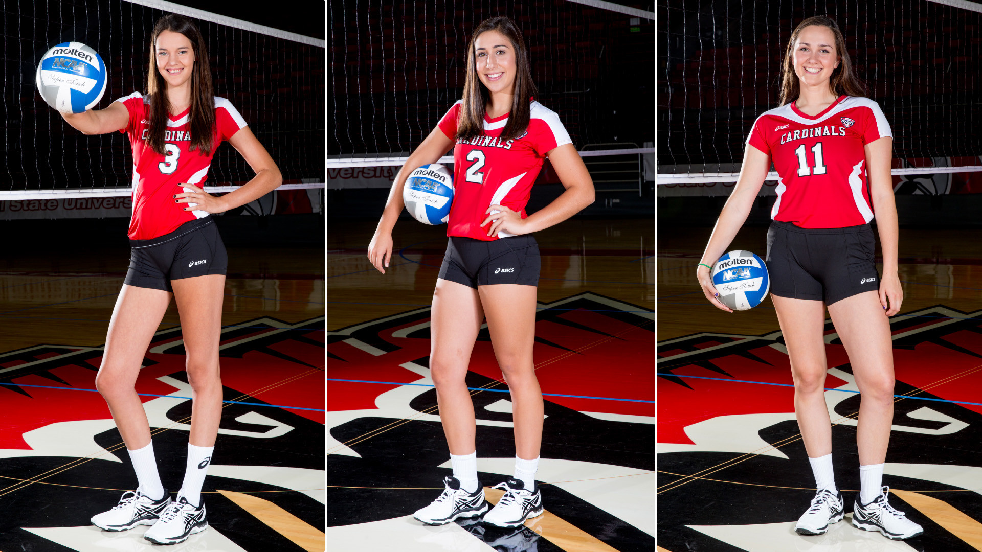 Women's Volleyball Sends Three to U.S. Women's National Team Tryouts