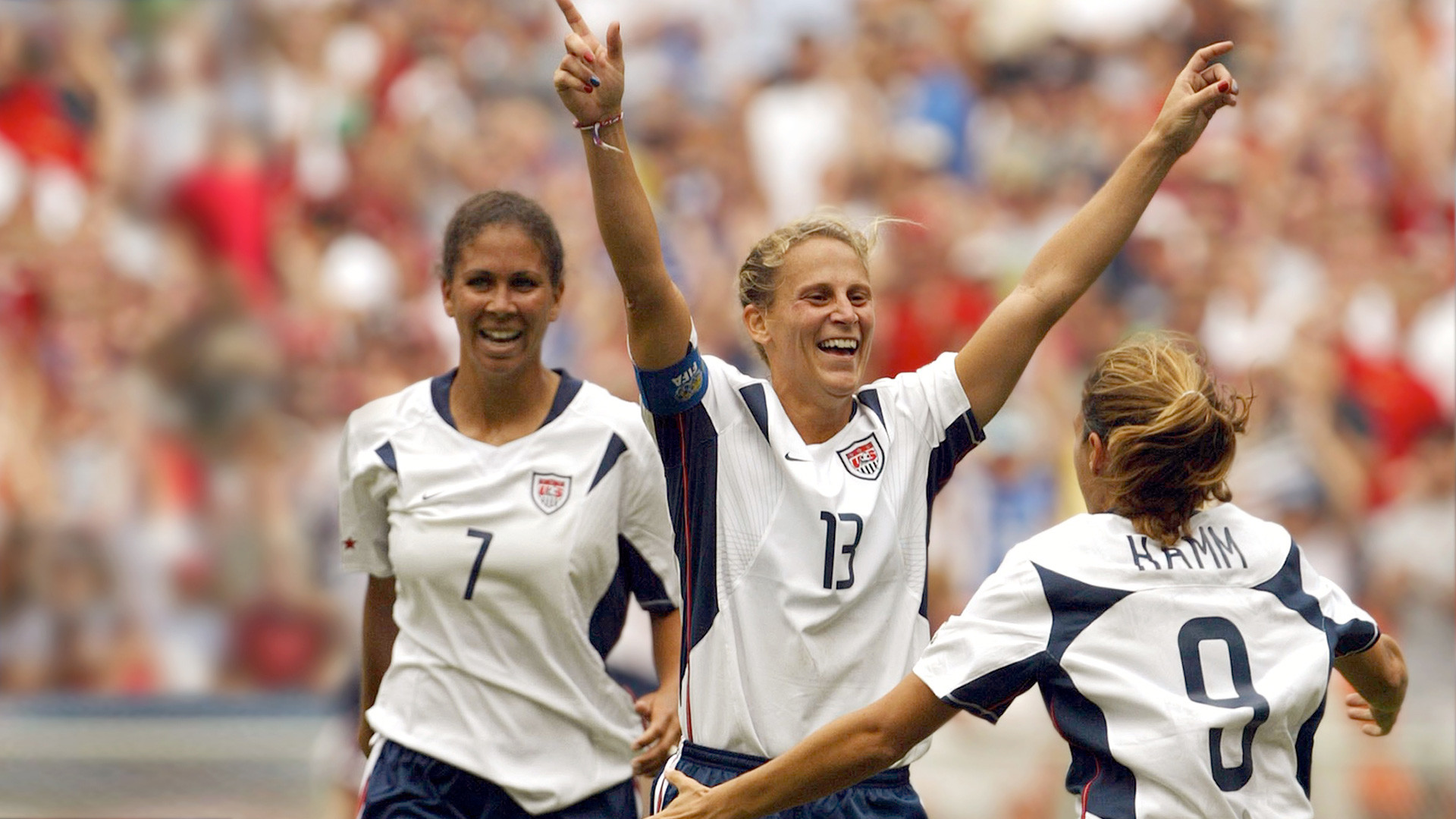 """Dare to Dream: The Story of the US. Women's Soccer Team. """""""