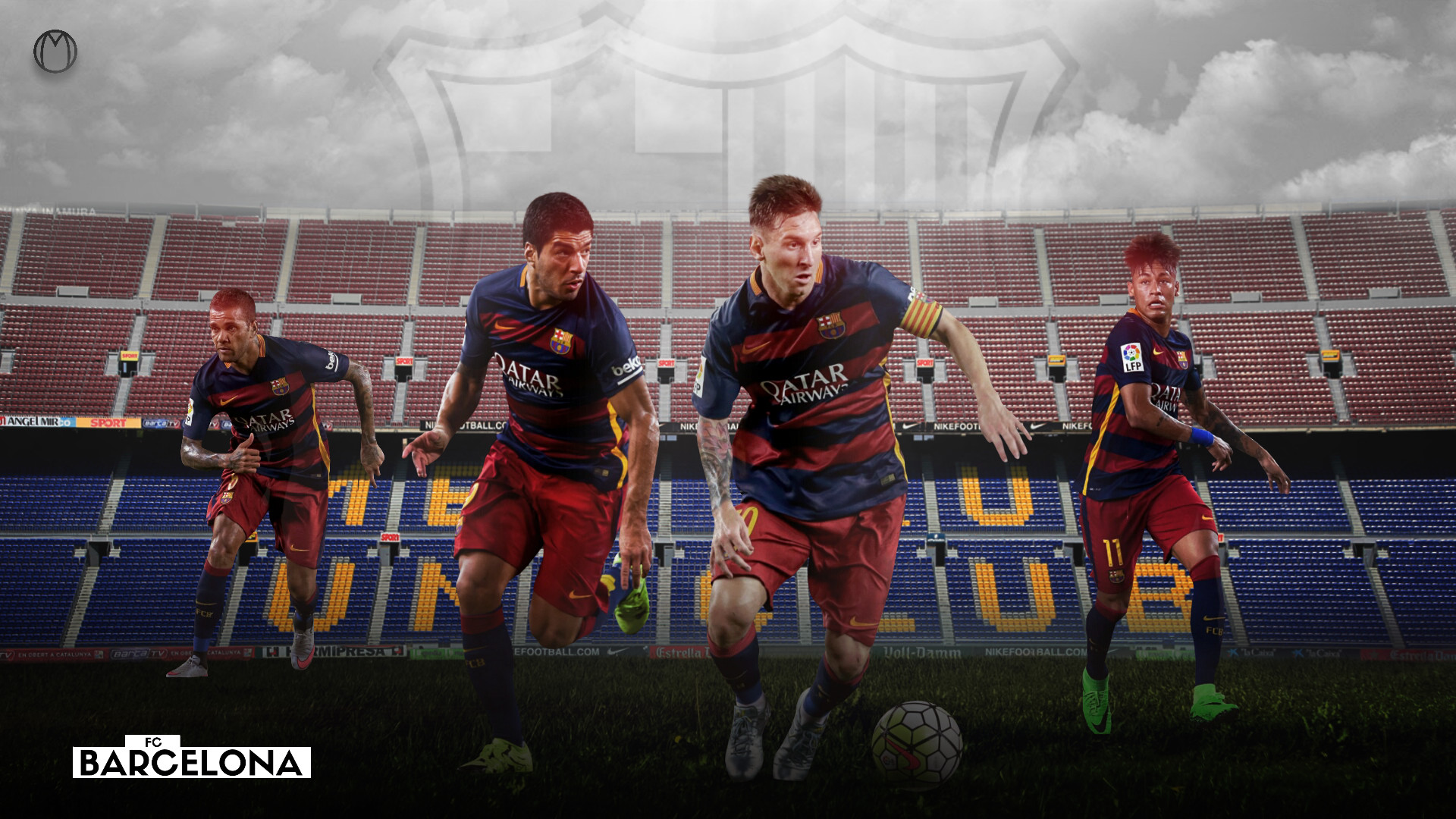 … free fc barcelona team wallpapers hd resolution long wallpapers …