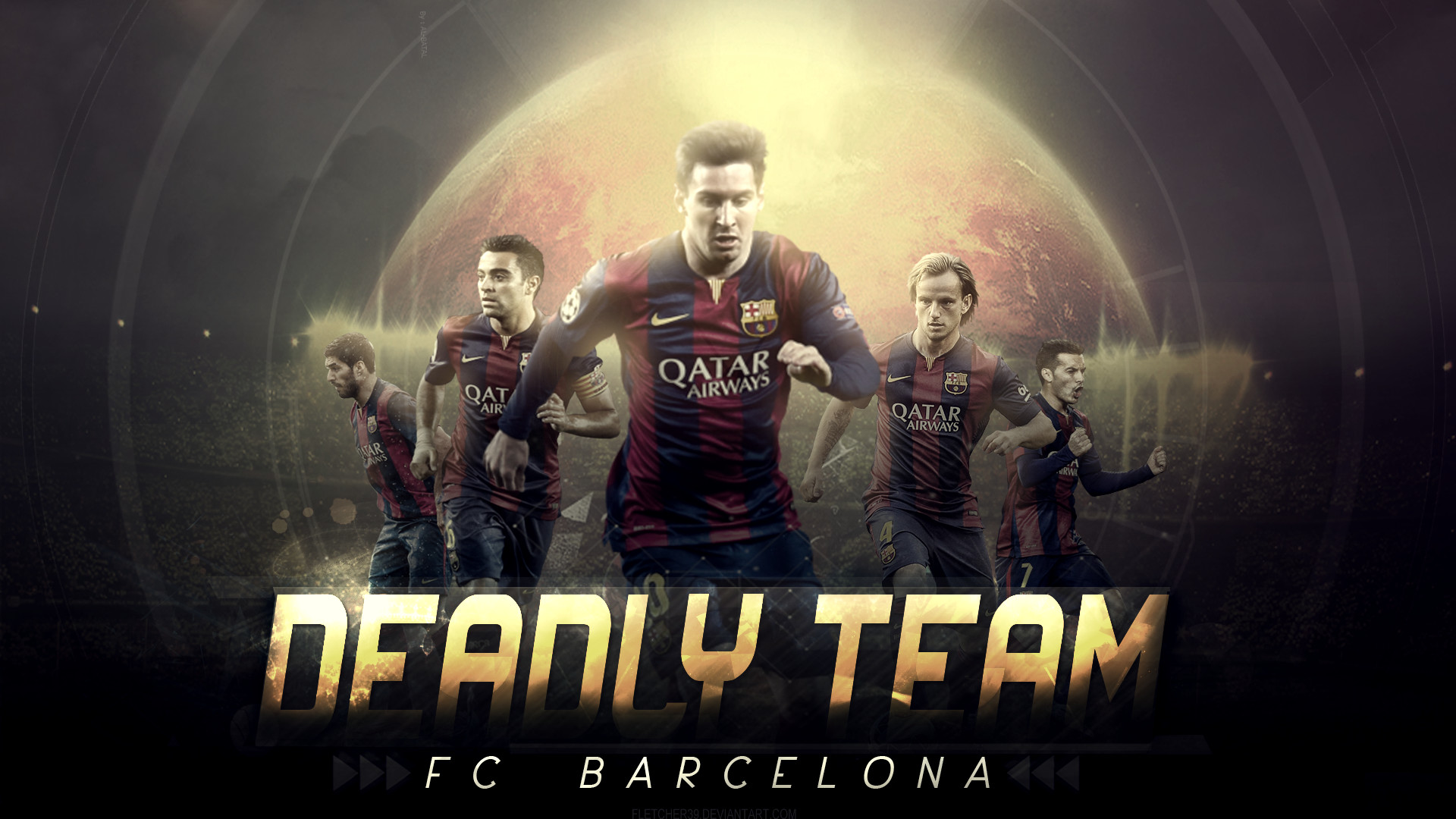 Free Desktop FC Barcelona Wallpapers HD.