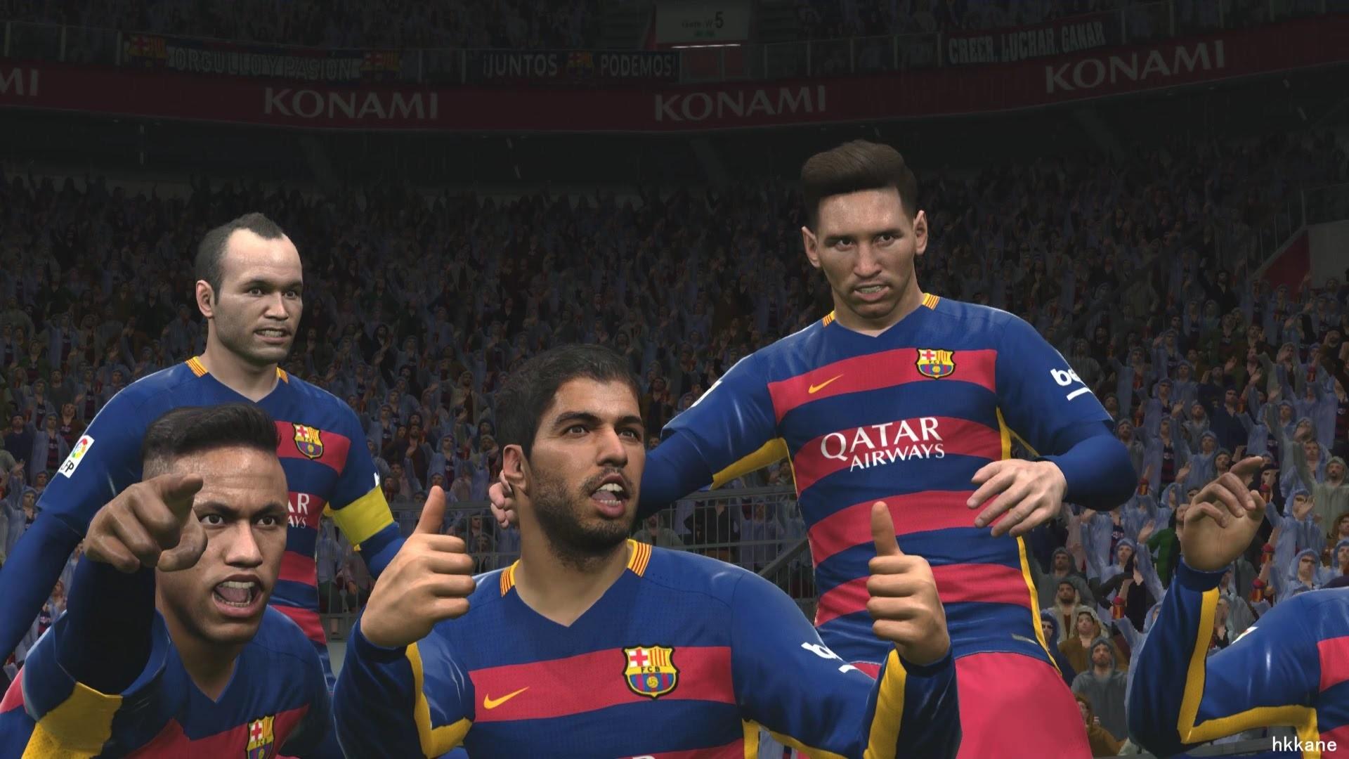 Pro Evolution Soccer 2016 PC FC Barcelona VS Real Madrid Gameplay – YouTube