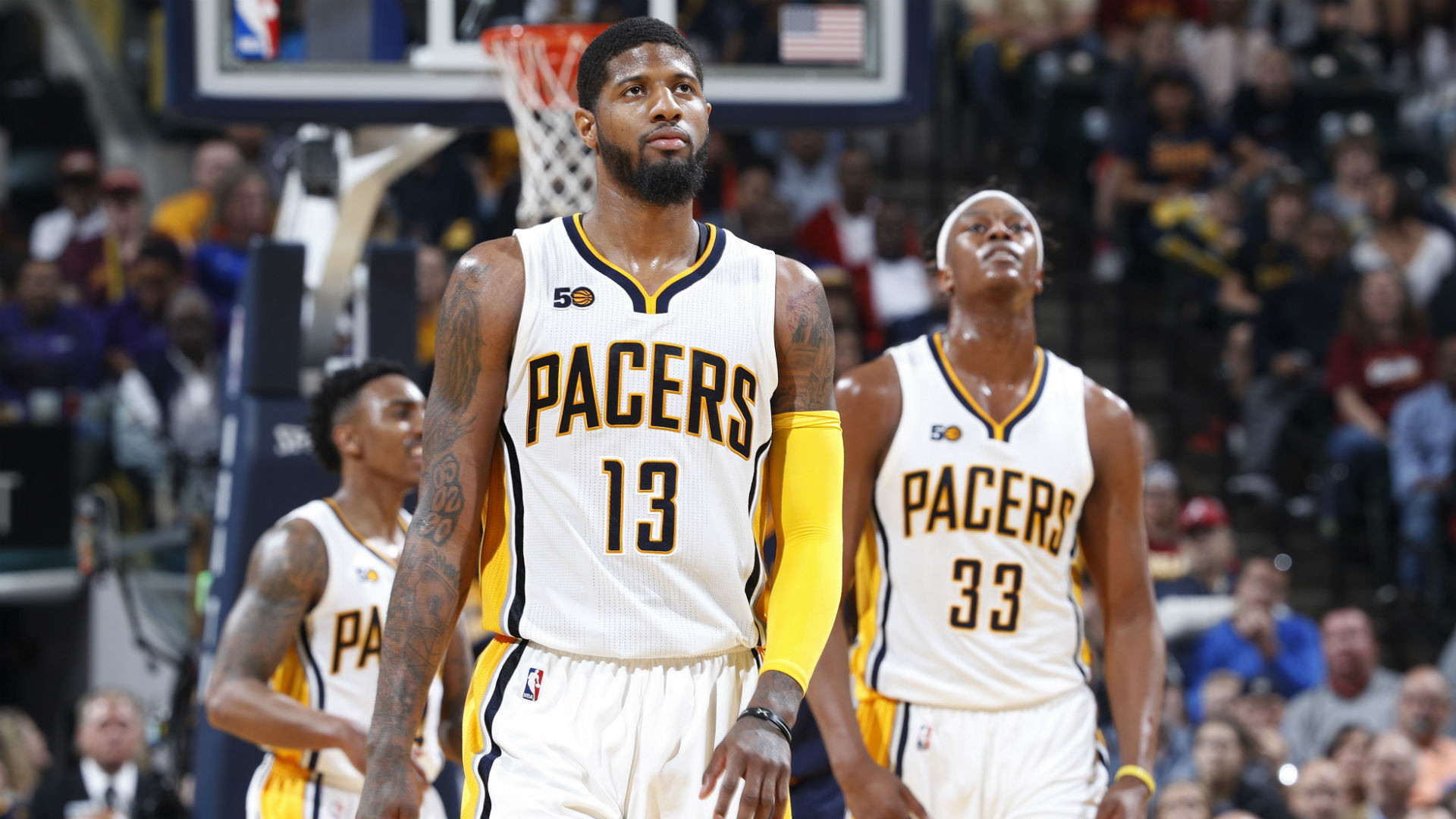 NBA playoffs 2017: Paul George brushes off questions about future after  Pacers swept by Cavs   NBA   Sporting News