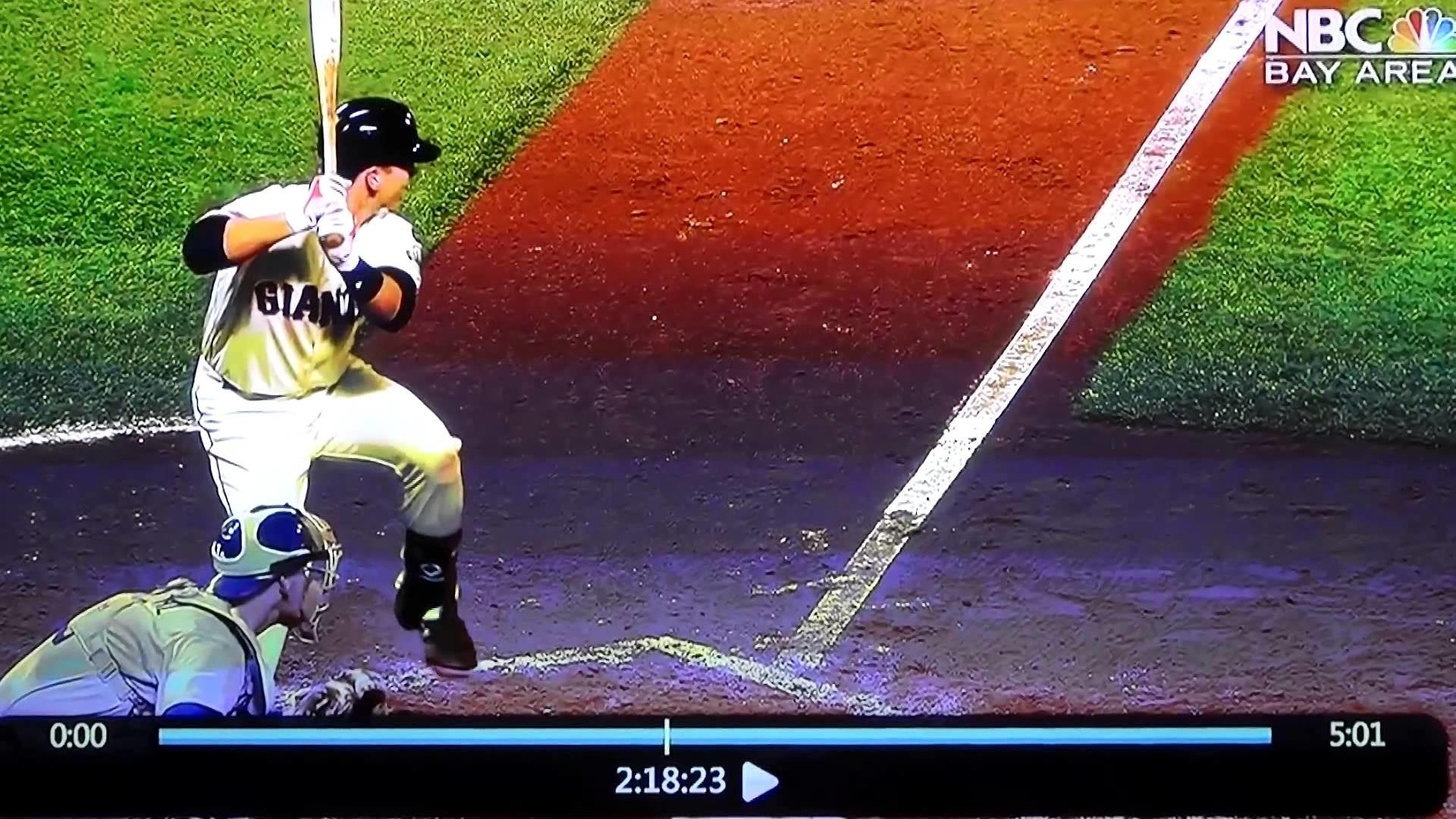 Buster Posey Home Run Swing