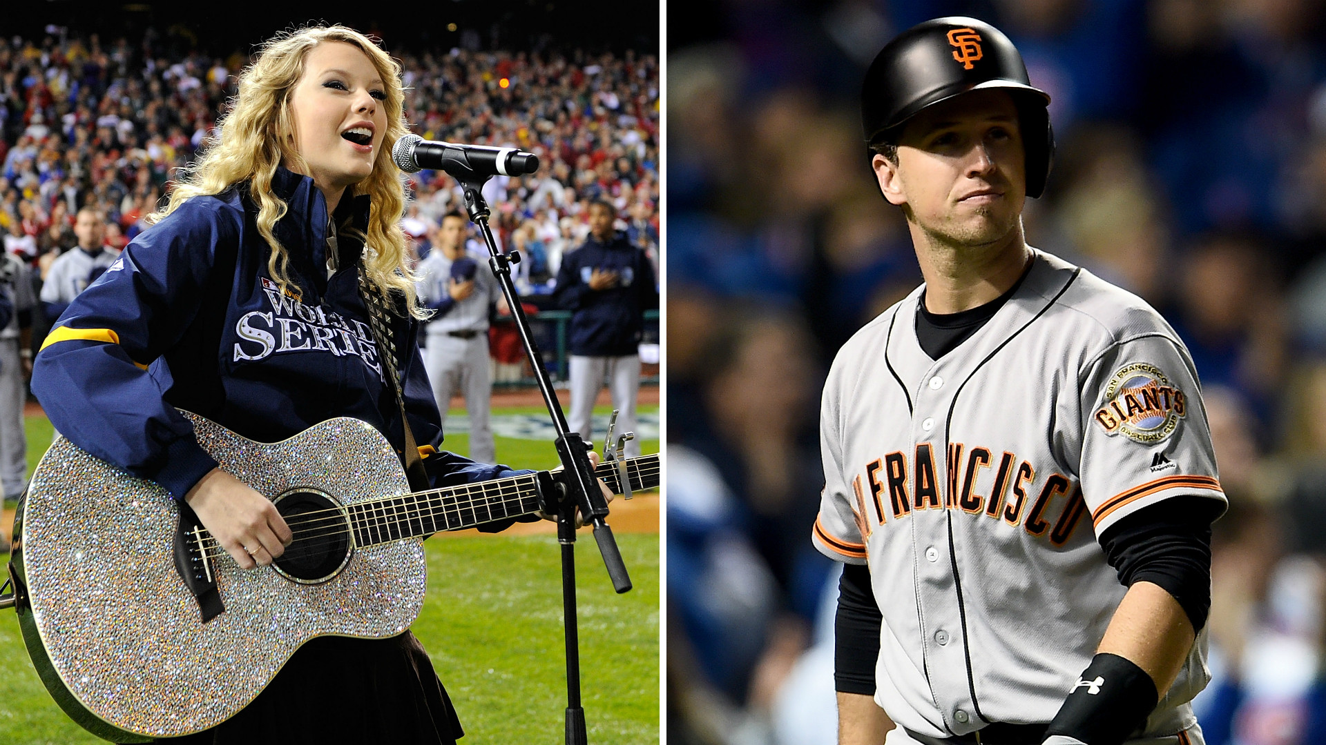 Giants fans are blaming Taylor Swift for loss to Cubs | MLB | Sporting News
