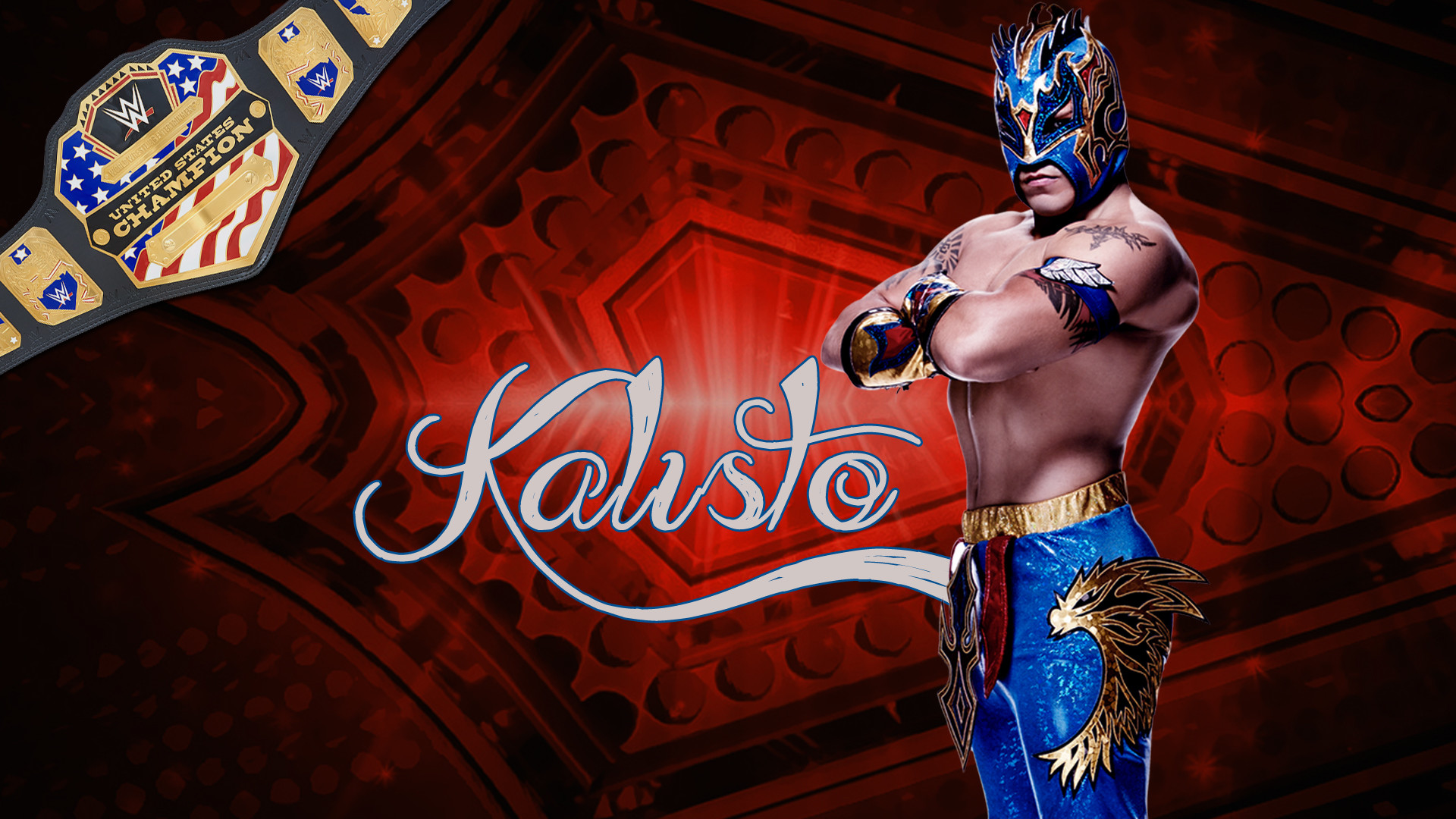 WWE Superstar kalisto HD Wallpapers & Pictures