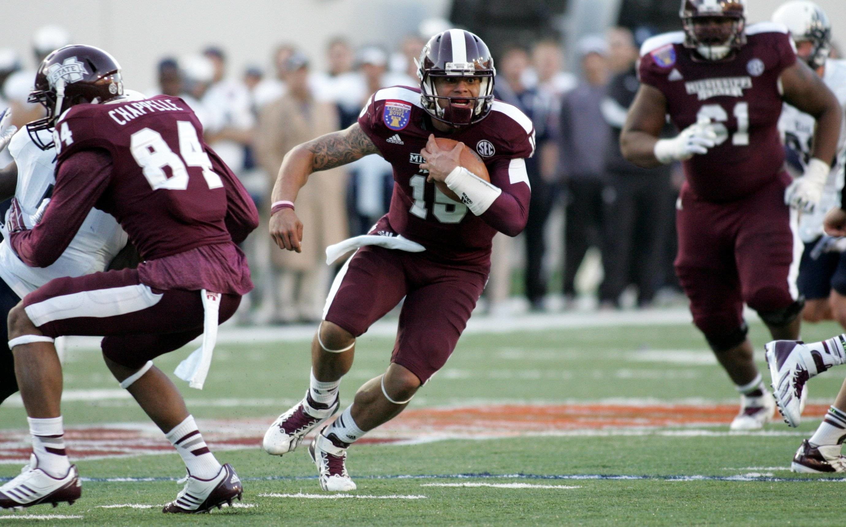 Mississippi State Dominates Rice 44-7 For 2013 Liberty Bowl Title