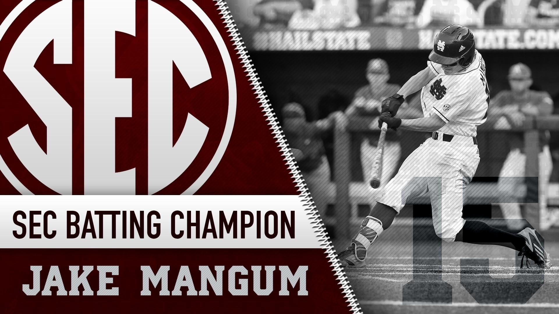 Jake Mangum Caps Stellar Freshman Year with SEC Batting Crown