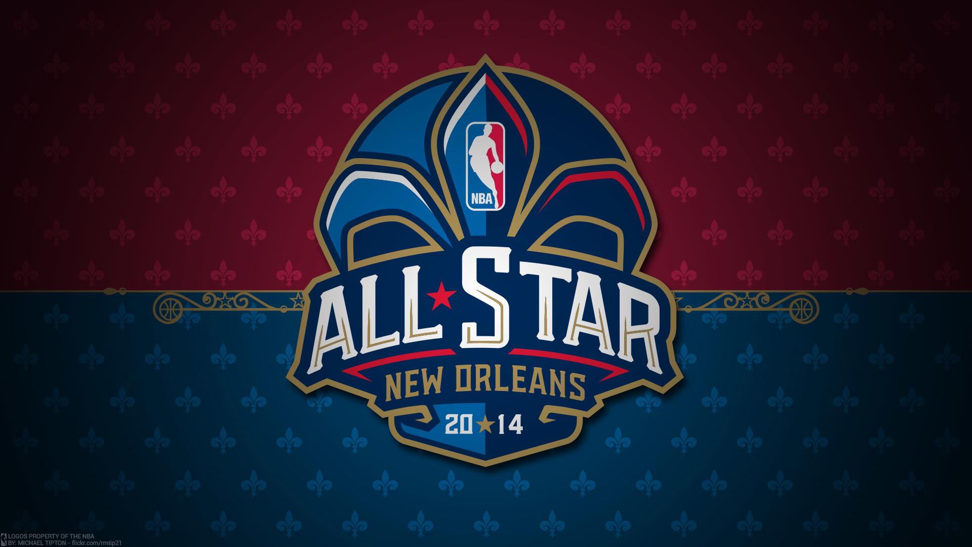 2014 NBA All-Star Logo Wallpaper
