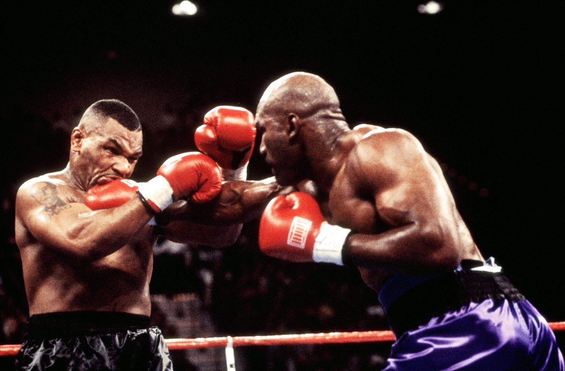 Boxing legend Mike Tyson