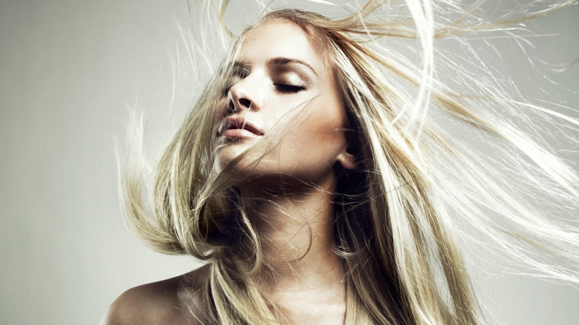 Girl Blonde Lovely Portrait