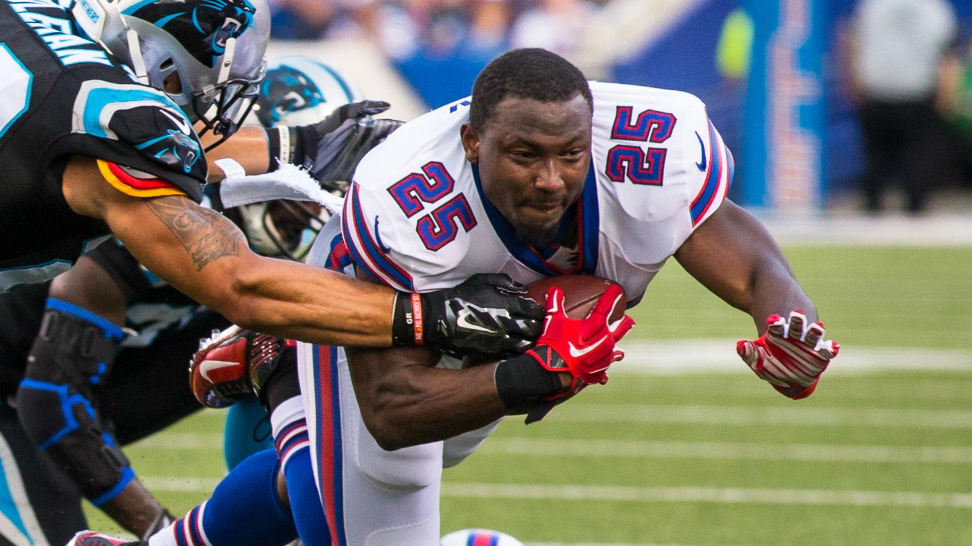 LeSean McCoy leaves Bills practice with hamstring injury | NFL | Sporting  News
