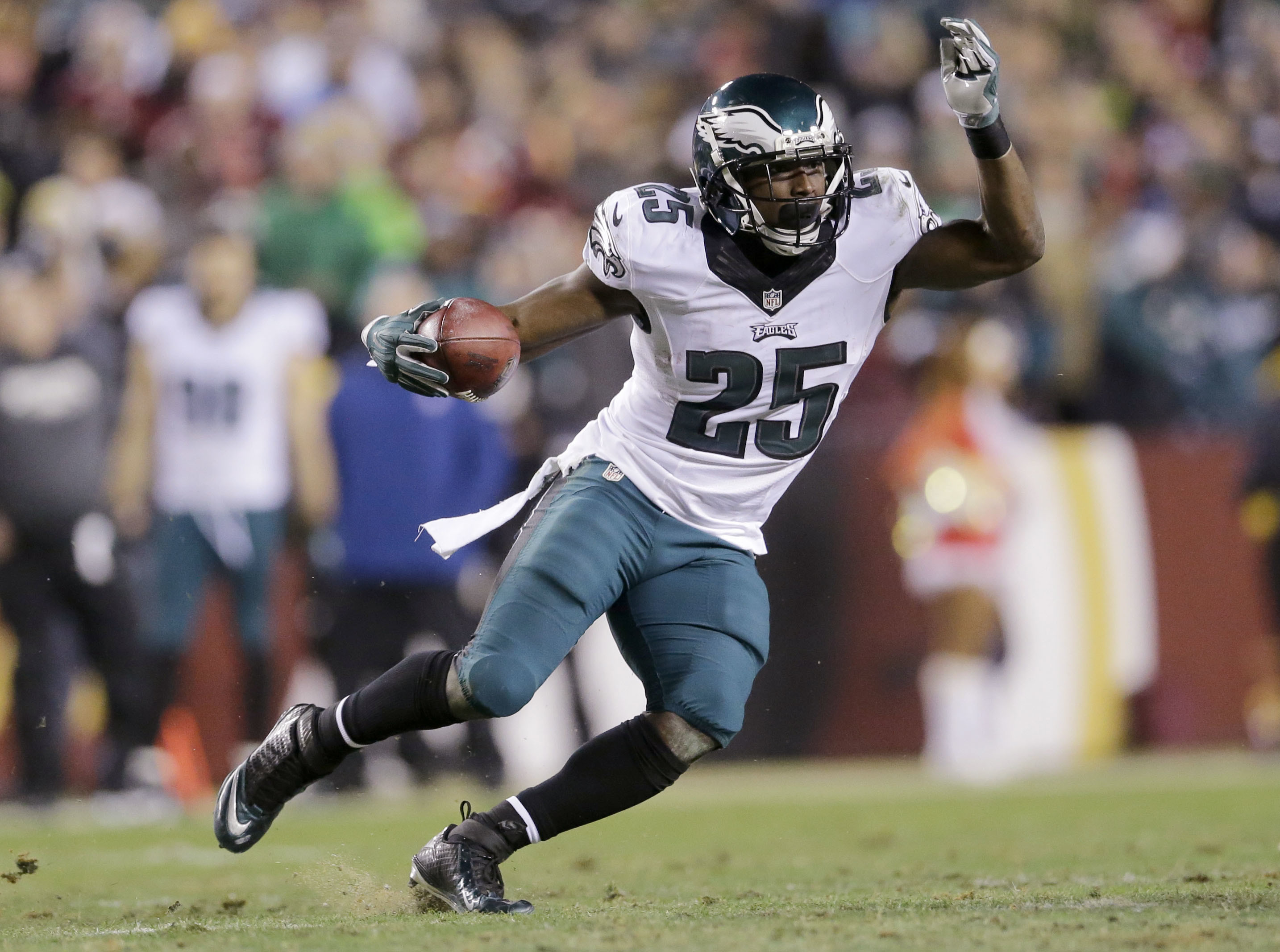 Buffalo soldier: Eagles running back LeSean McCoy led the NFL with 1,607  yards rushing in