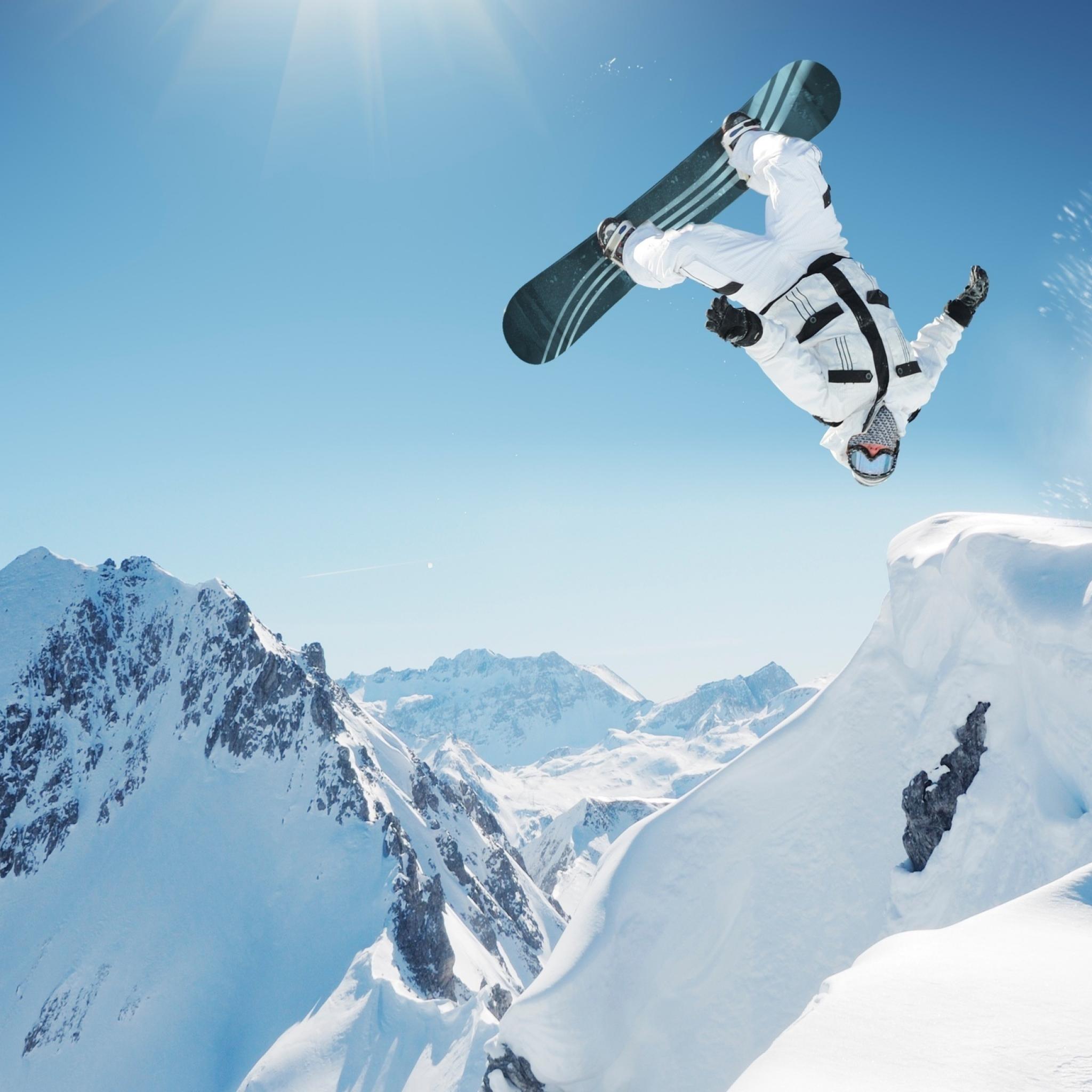 Snowboarding iPad Wallpaper HD #iPad #wallpaper