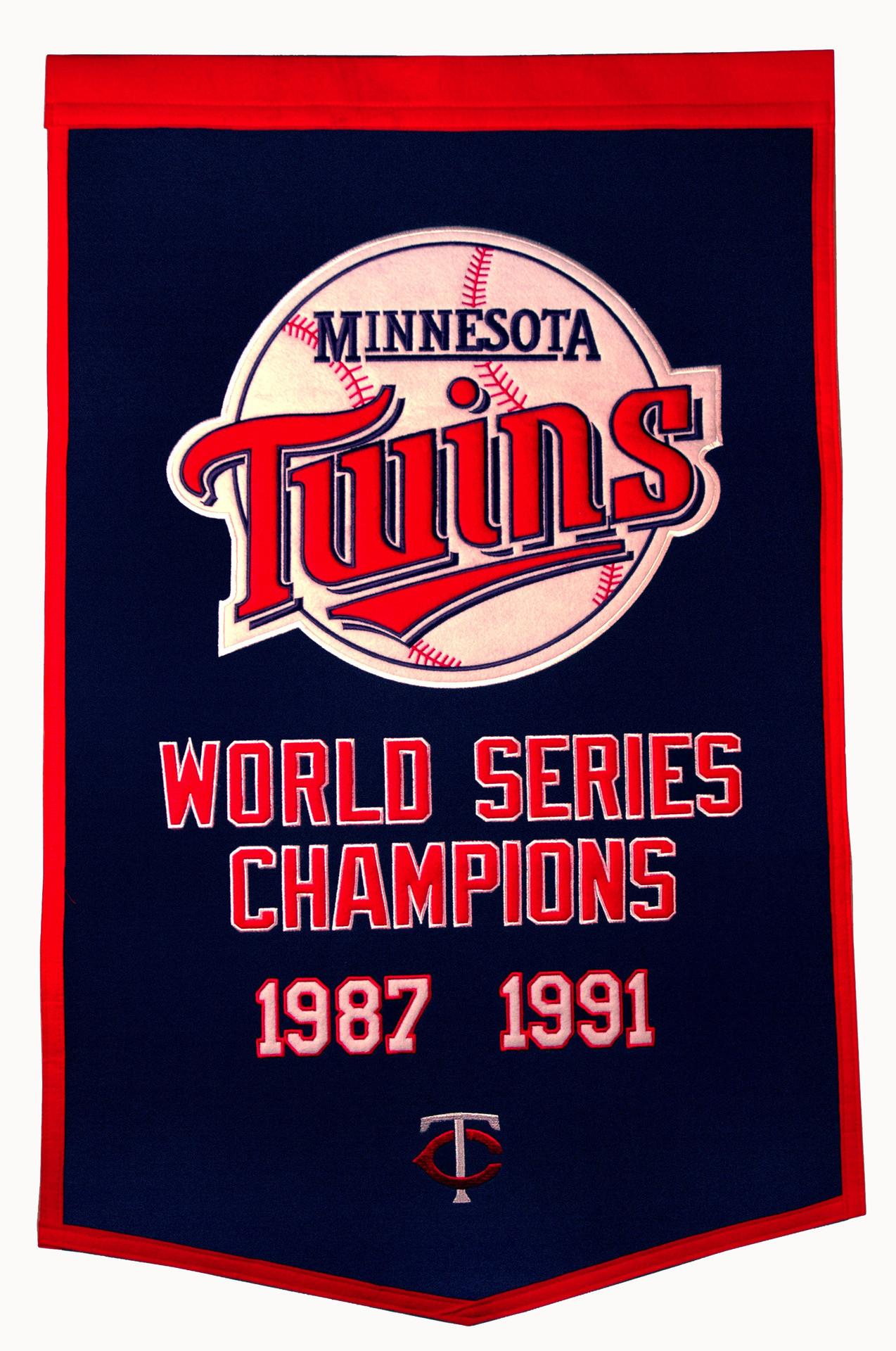 Minnesota Twins World Series Champions 1987 & 1991