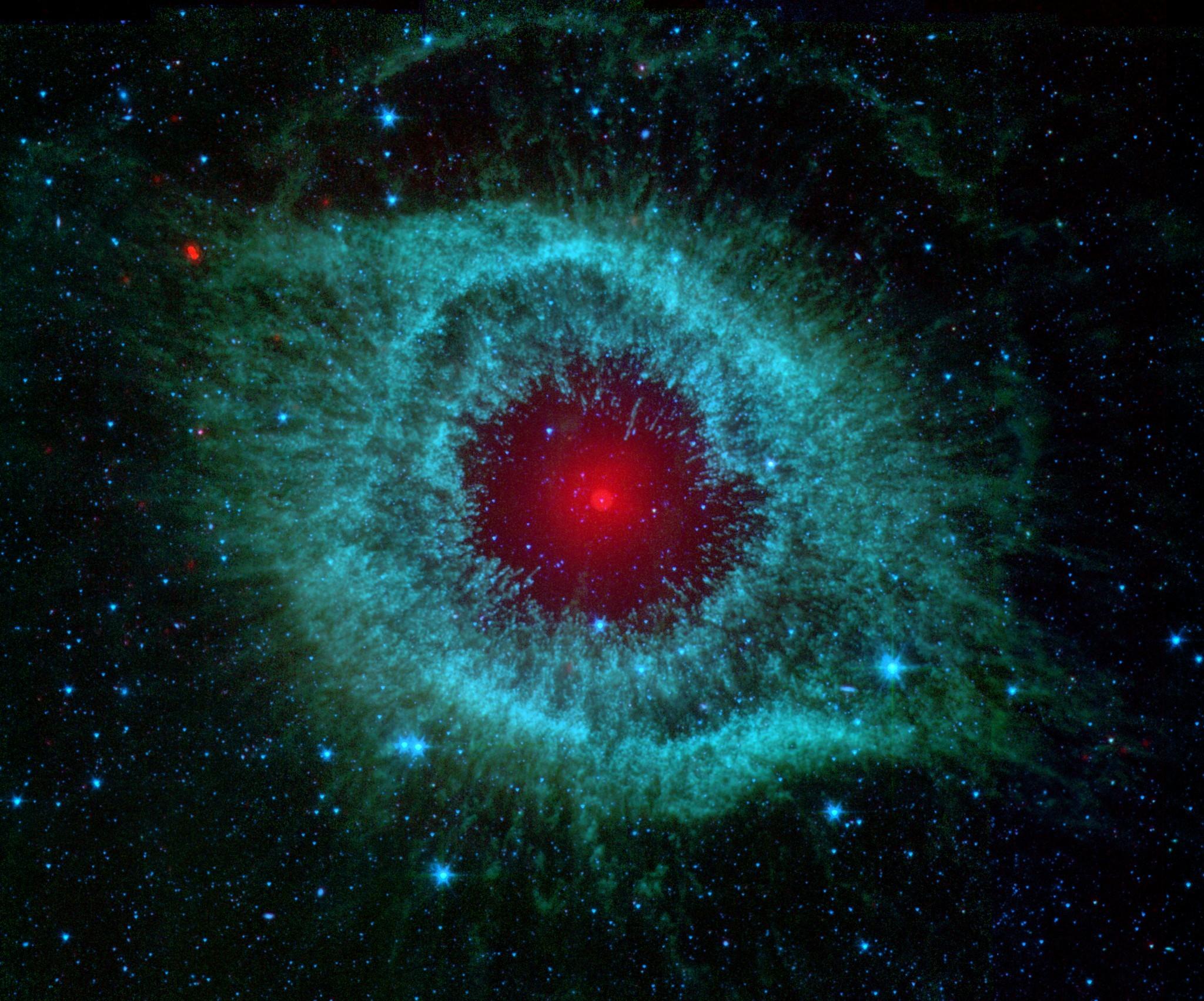 Desktop Wallpaper: Deep space nebula