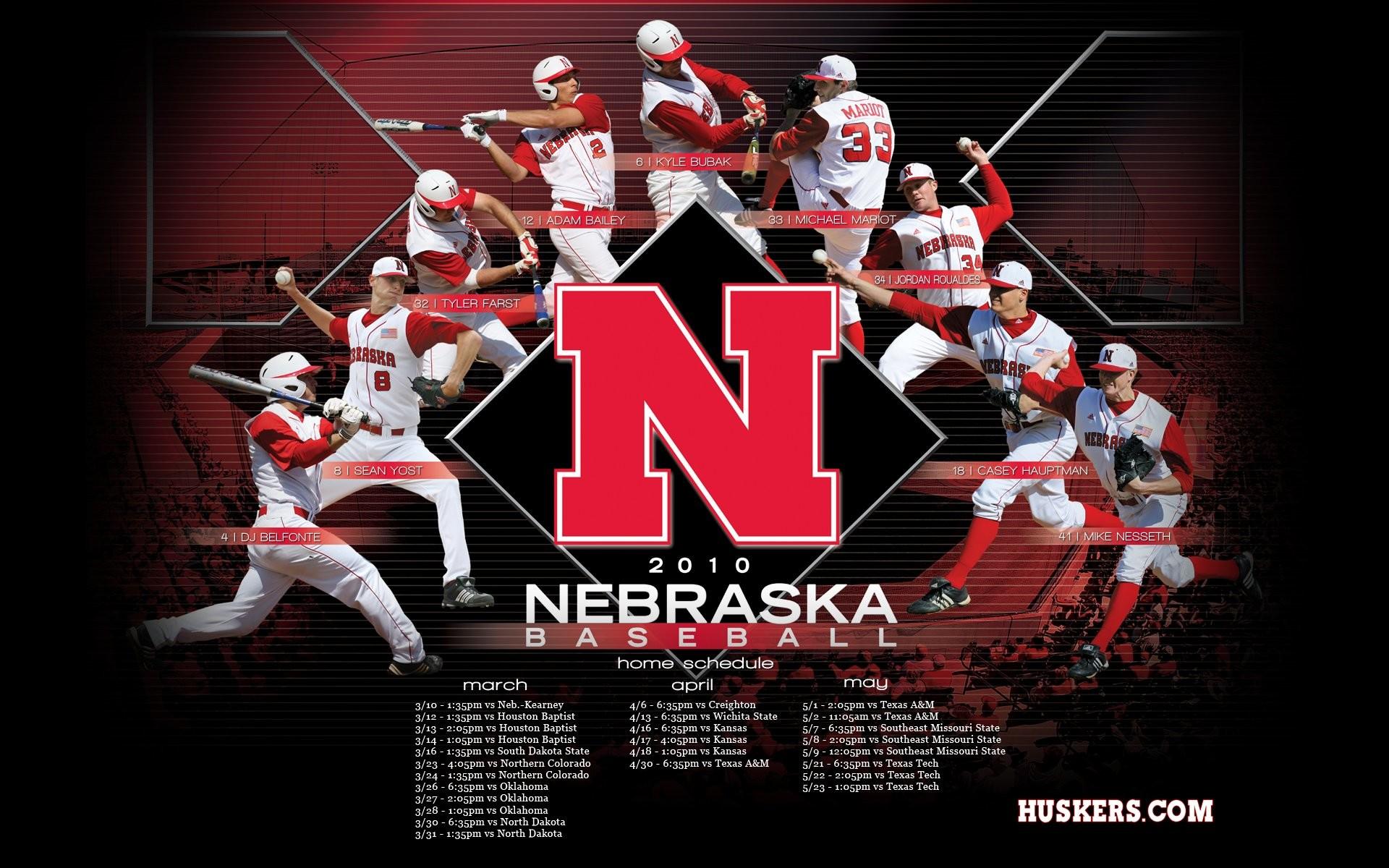 Nebraska Baseball Wallpaper