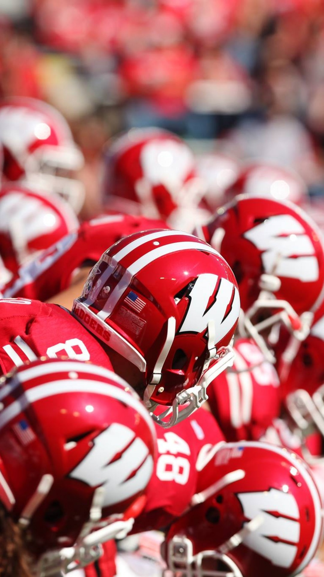 Football Wisconsin Athletics Lucas Shaw eager to make