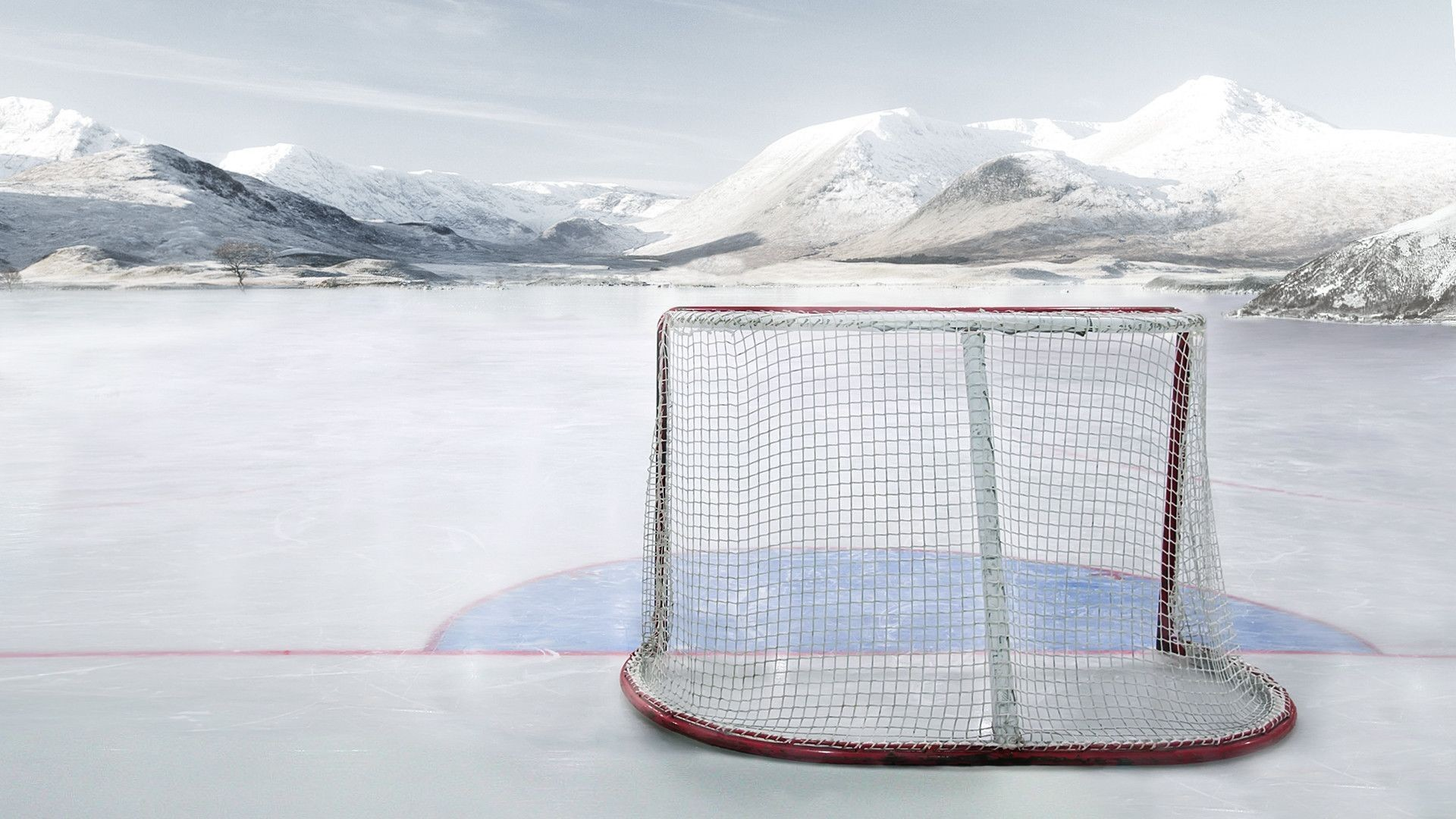 I created a hockey wallpaper. Pick what ever style you want. : hockey