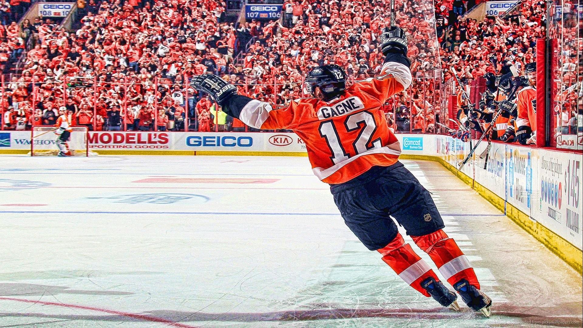 HD Philadelphia Flyer Ice Hockey Wallpaper Ultra HD Full Size .
